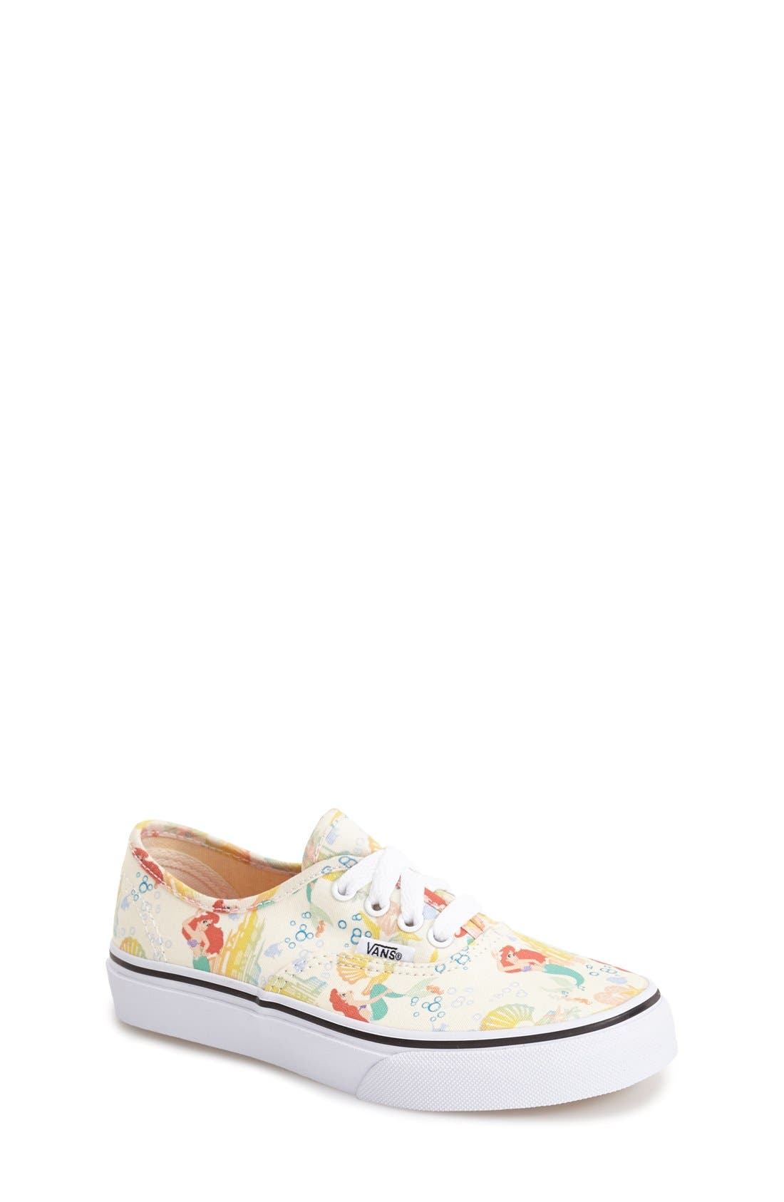 'Authentic - Disney<sup>®</sup> Ariel' Sneaker, Main, color, 100