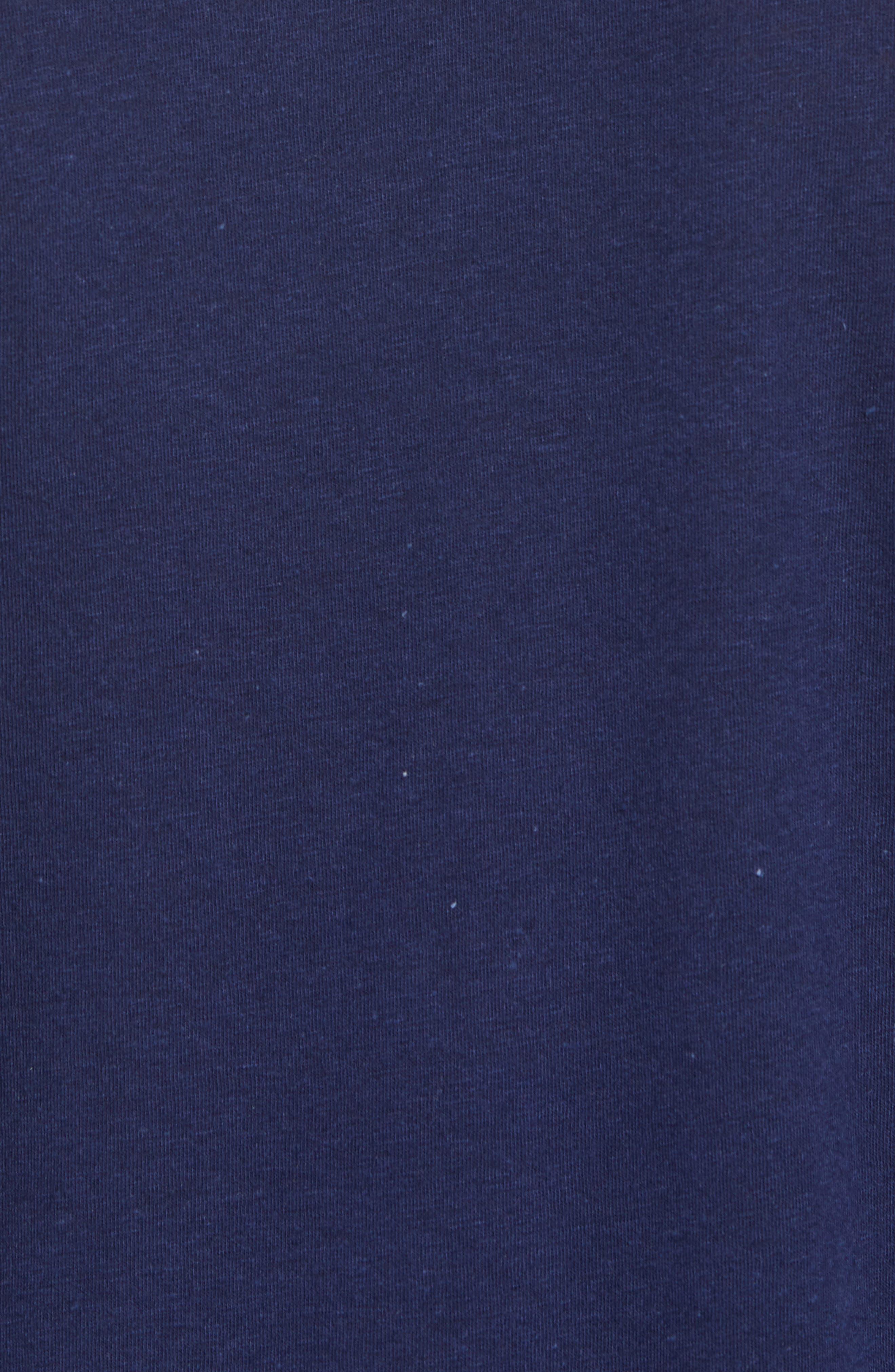 Vintage Athletic V-Neck T-Shirt,                             Alternate thumbnail 5, color,                             410