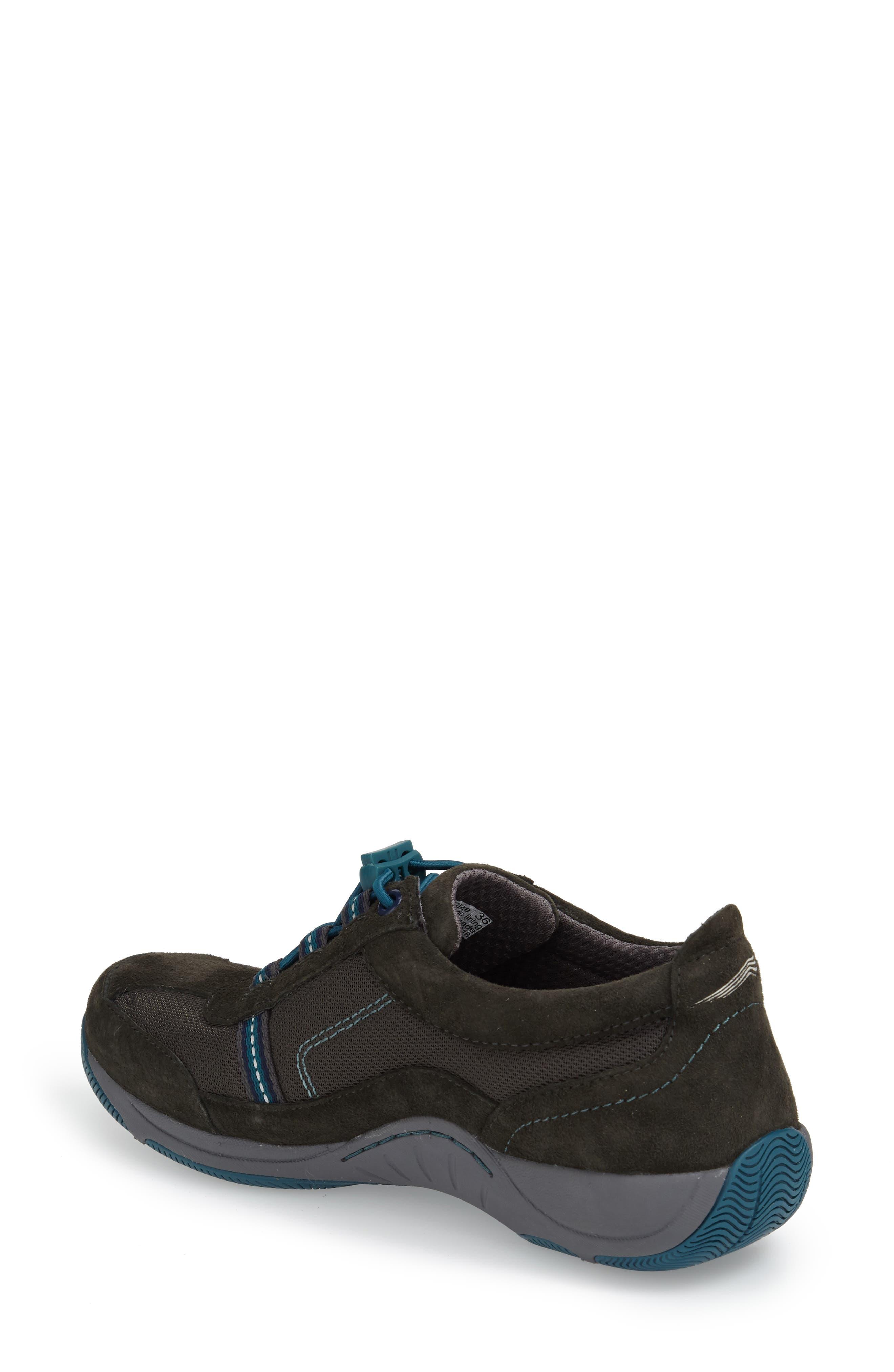 'Helen' Suede & Mesh Sneaker,                             Alternate thumbnail 33, color,