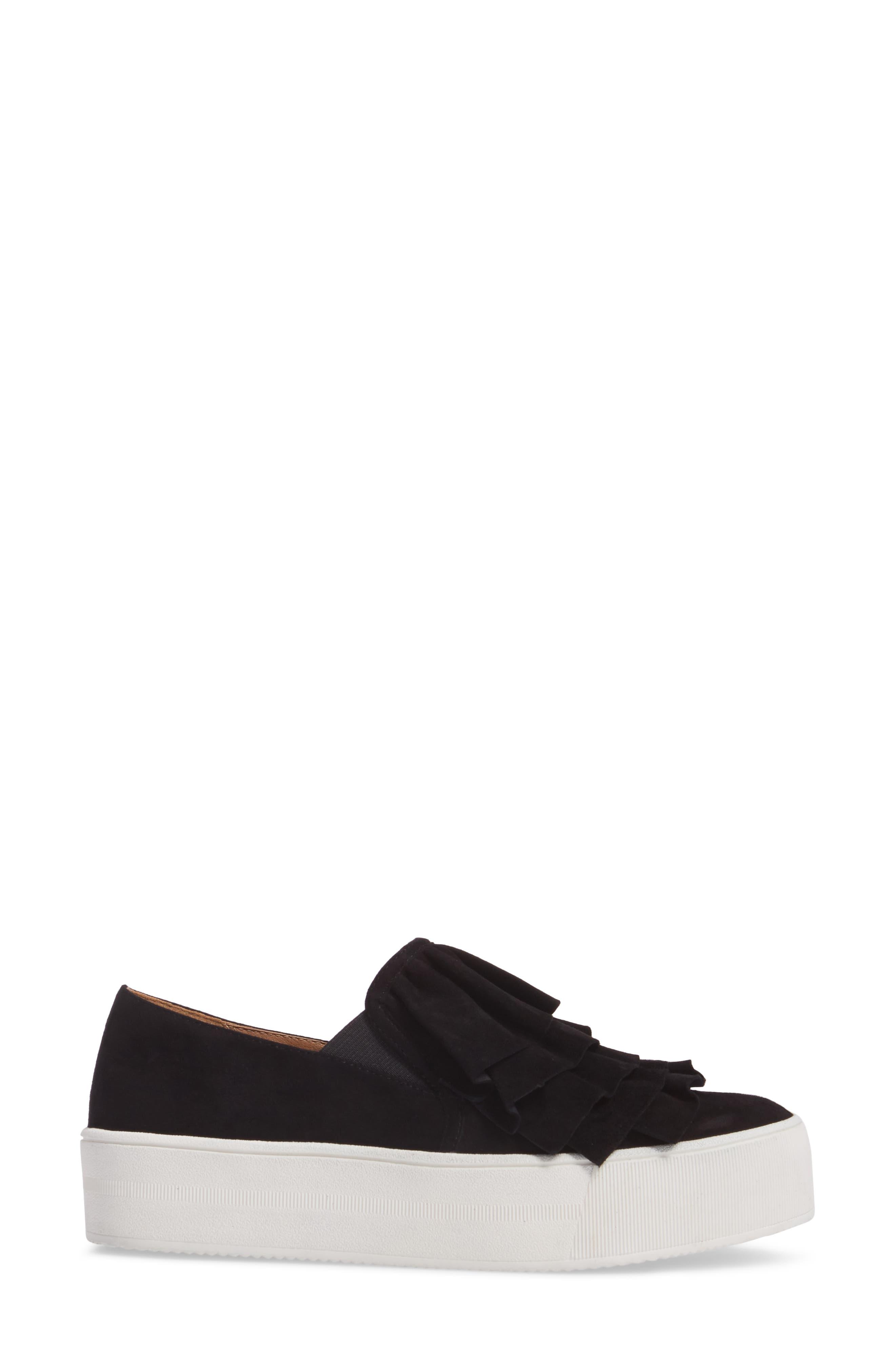Marian Platform Sneaker,                             Alternate thumbnail 3, color,                             001