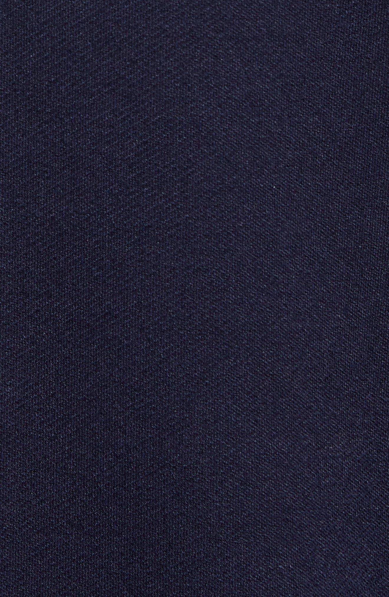 Zip Front Shirt Jacket,                             Alternate thumbnail 7, color,                             NAVY NIGHT