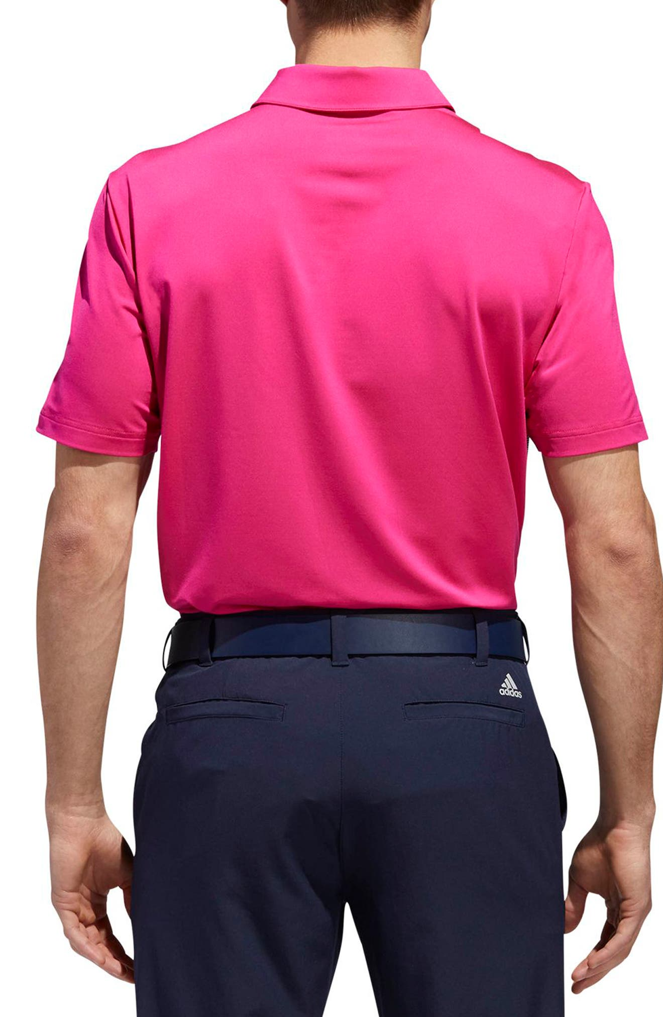 adidas Ultimate Colorblock Regular Fit Polo Shirt,                             Alternate thumbnail 2, color,                             677
