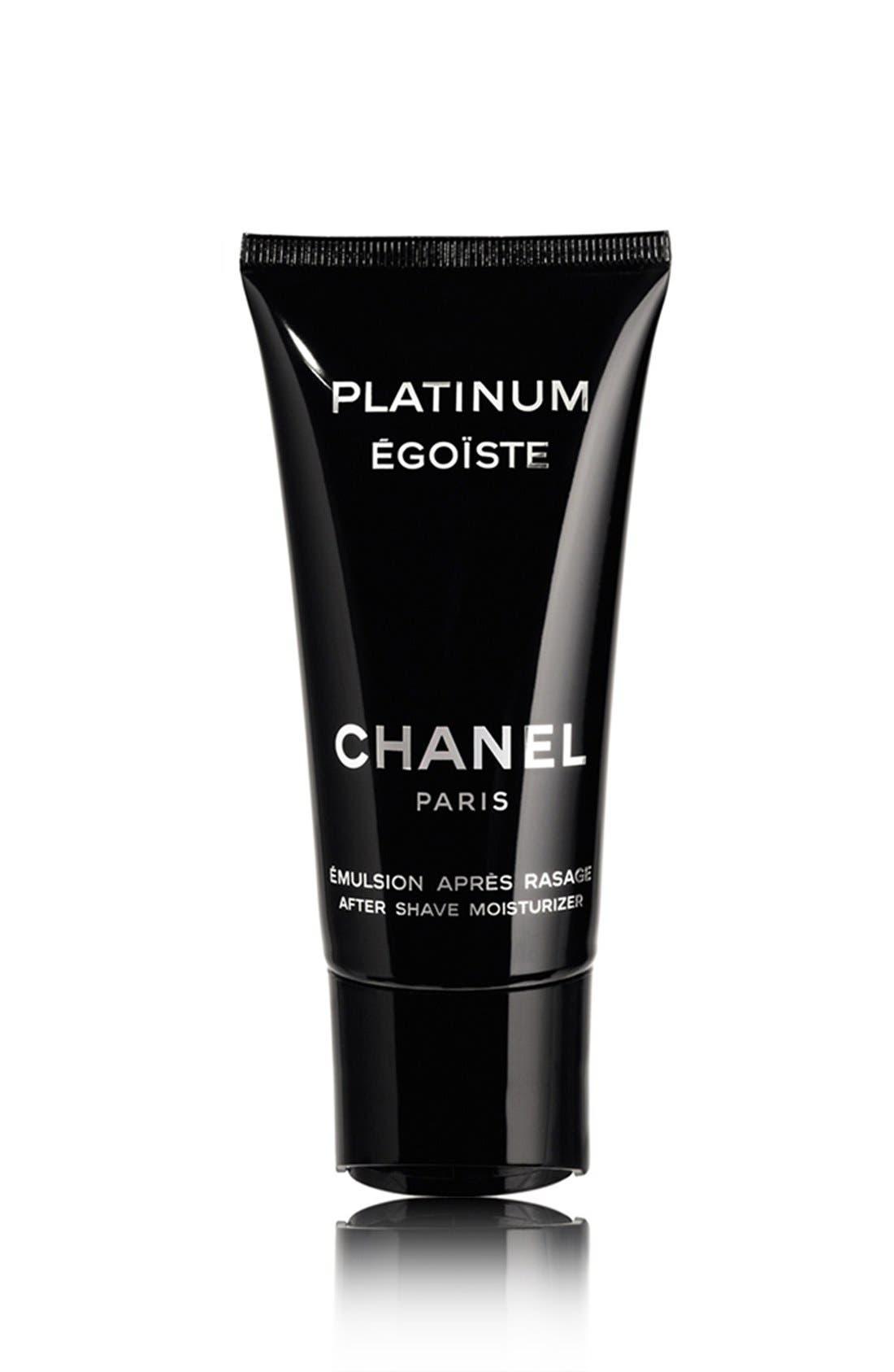 PLATINUM ÉGOÏSTE<br />After Shave Moisturizer,                         Main,                         color,