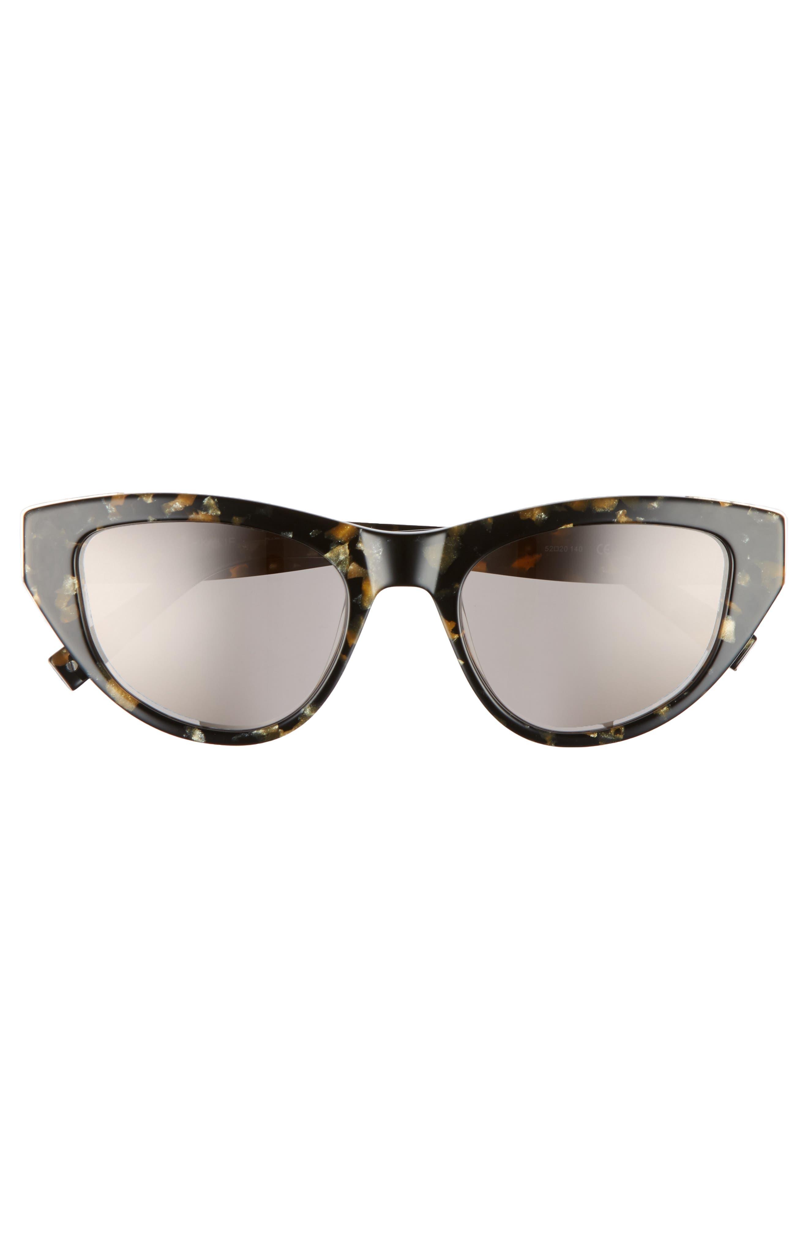 Sienna 52mm Retro Cat Eye Sunglasses,                             Alternate thumbnail 7, color,