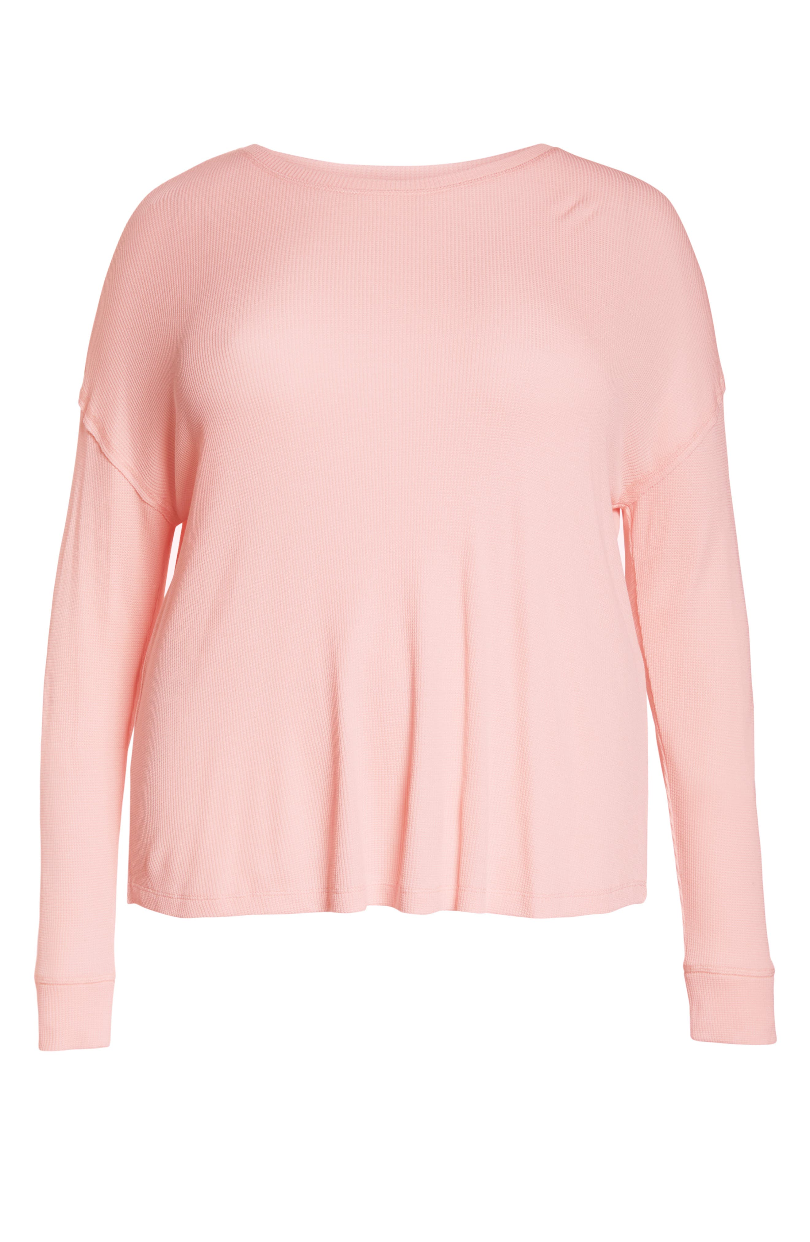 Daybreak Thermal Tee,                             Alternate thumbnail 6, color,                             PINK FIZZ