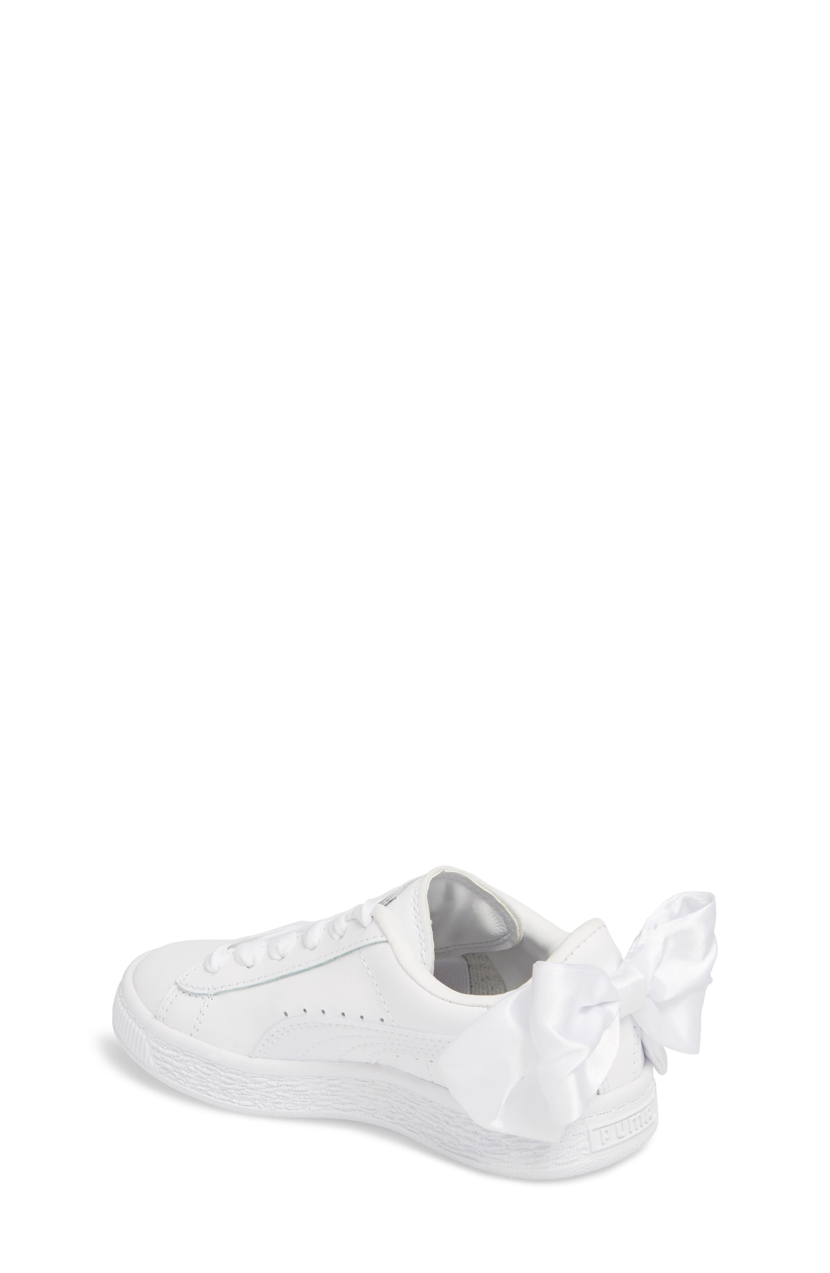 Basket Bow AC Sneaker,                             Alternate thumbnail 2, color,                             100
