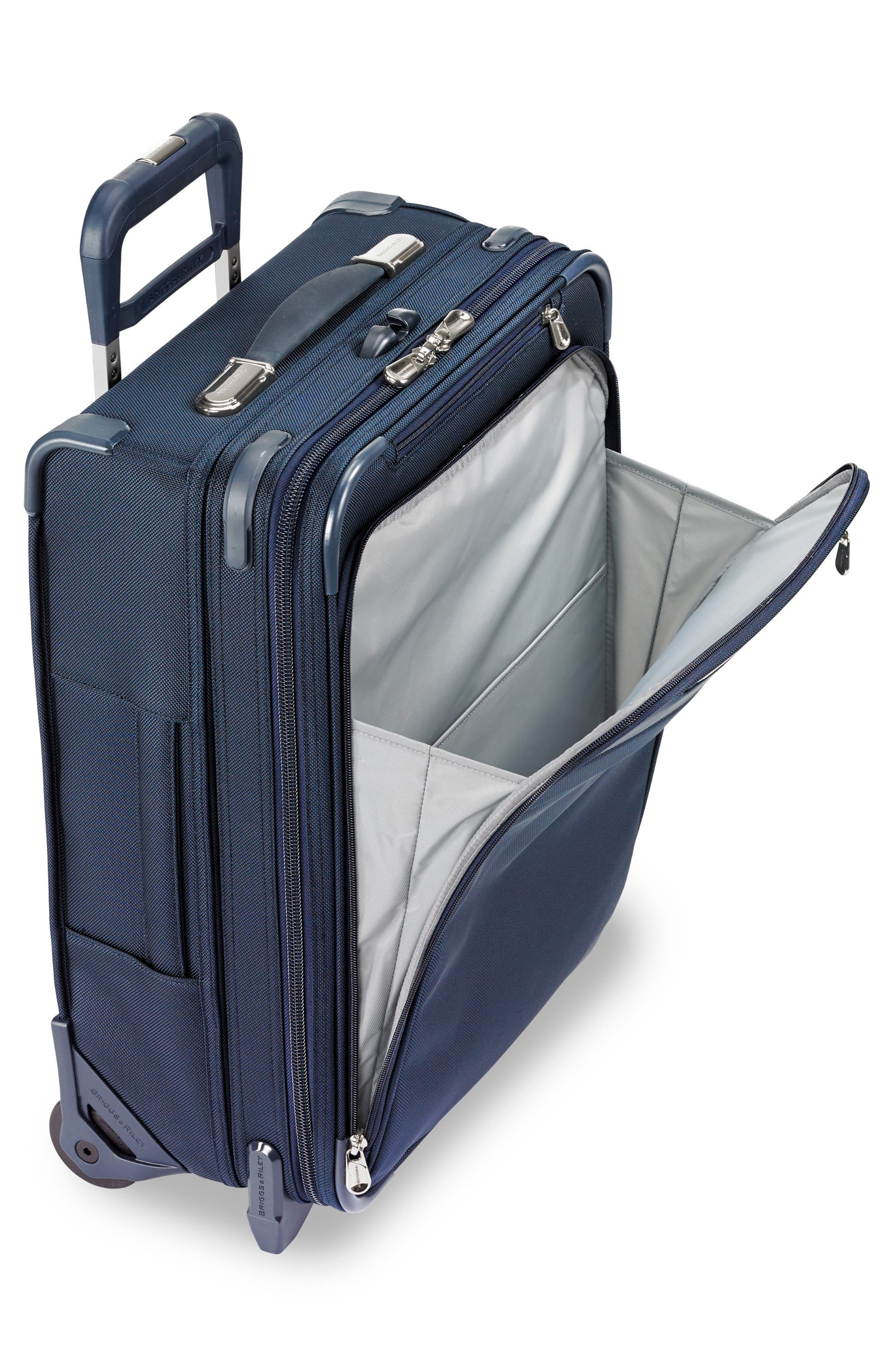 21-Inch Baseline Widebody International Rolling Carry-On,                             Alternate thumbnail 6, color,                             NAVY