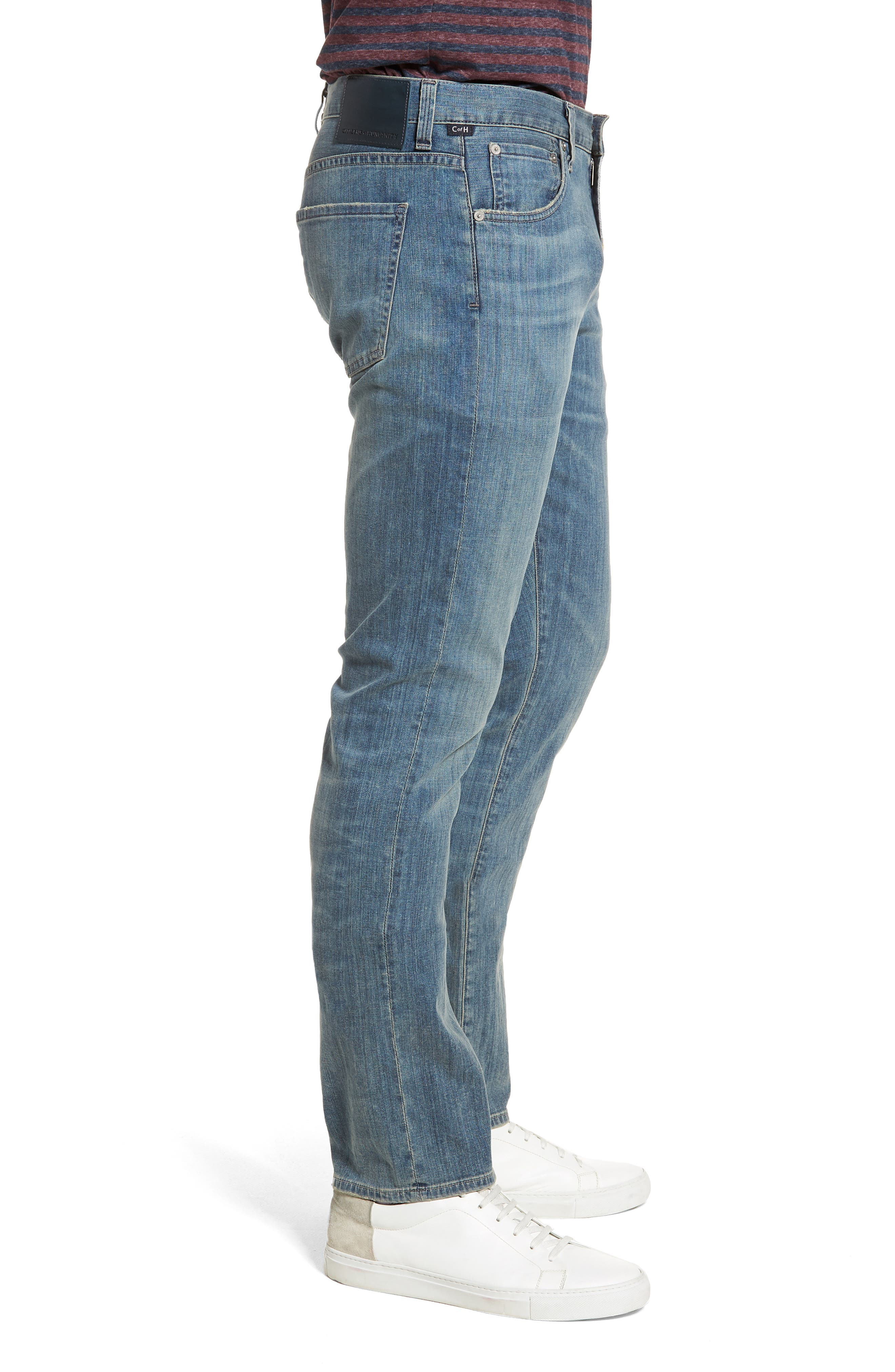 Gage Slim Straight Leg Jeans,                             Alternate thumbnail 3, color,                             COSTA