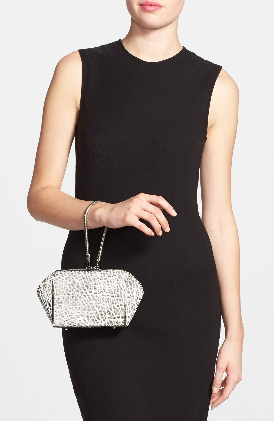 'Chastity' Clutch,                             Alternate thumbnail 2, color,                             001