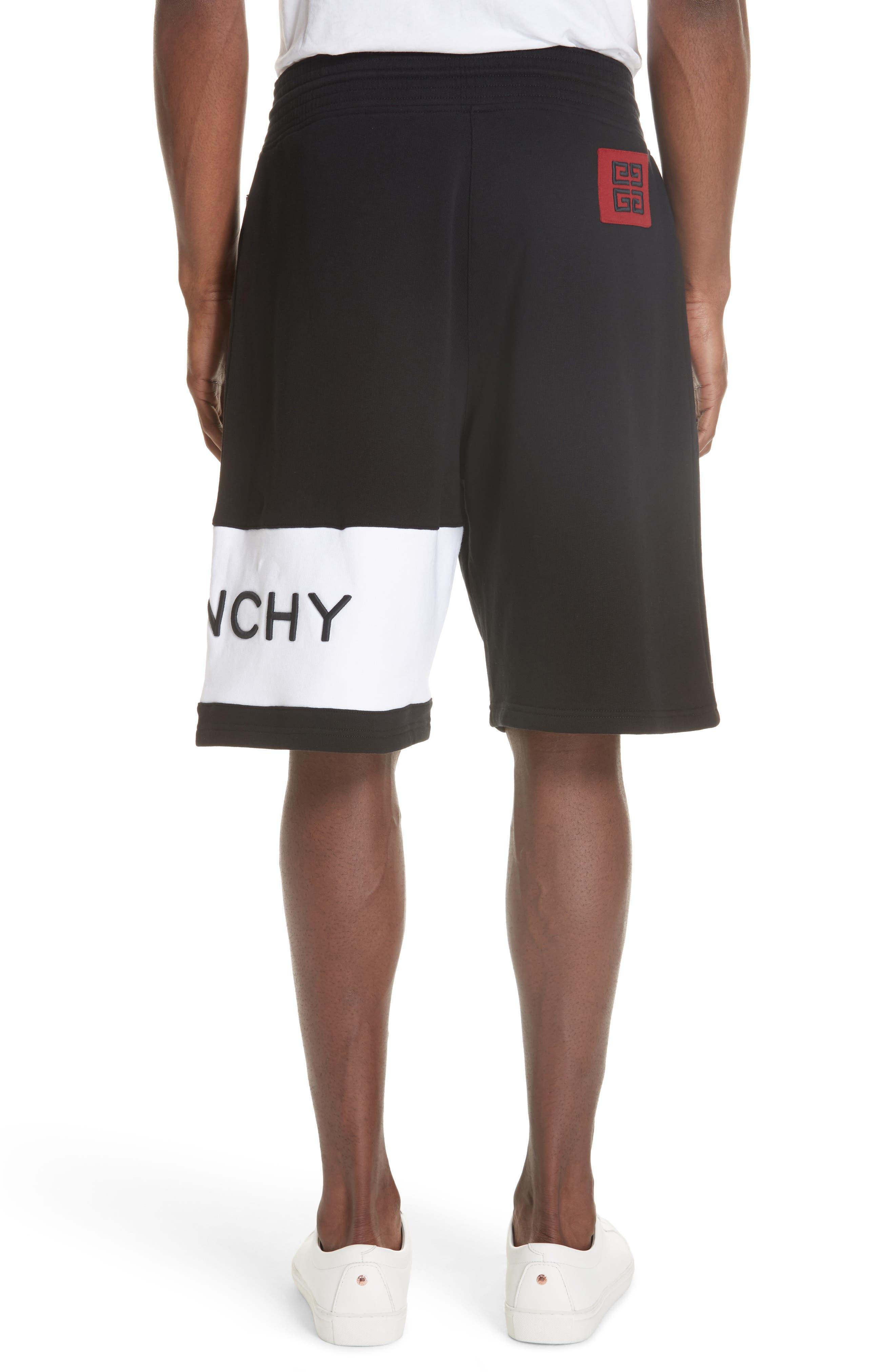 Knit Bermuda Shorts,                             Alternate thumbnail 2, color,                             BLACK