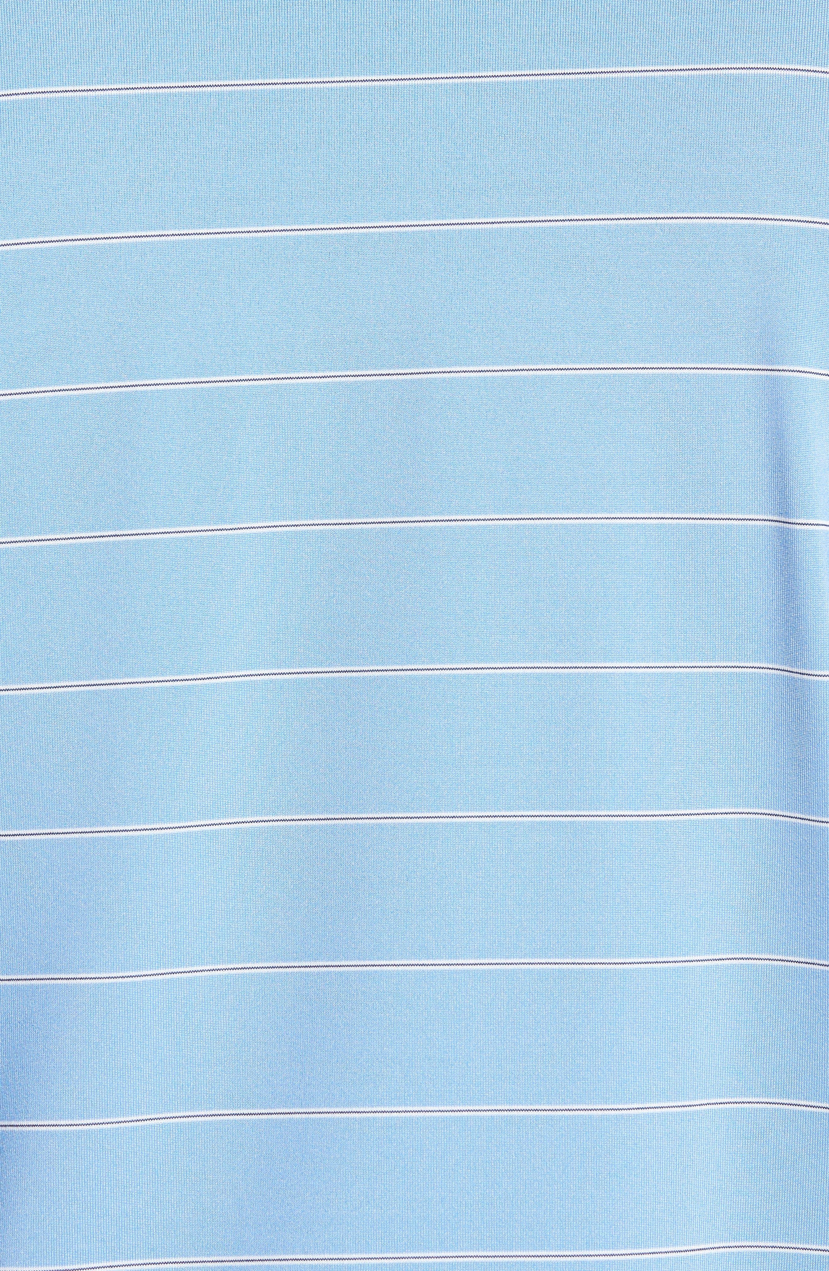 XH2O Momentum Stripe Jersey Polo,                             Alternate thumbnail 5, color,                             459