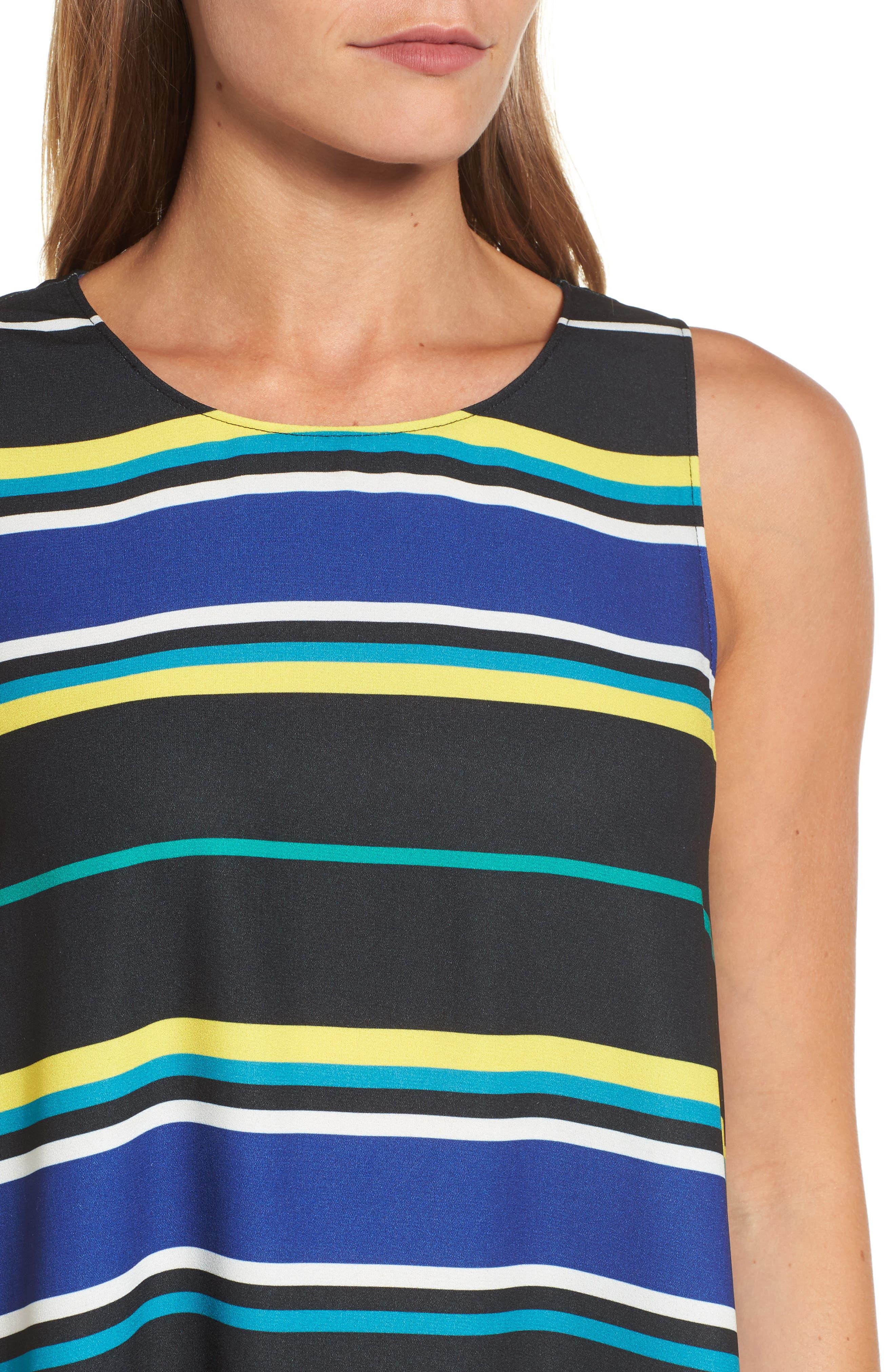 A-Line Dress,                             Alternate thumbnail 4, color,                             005