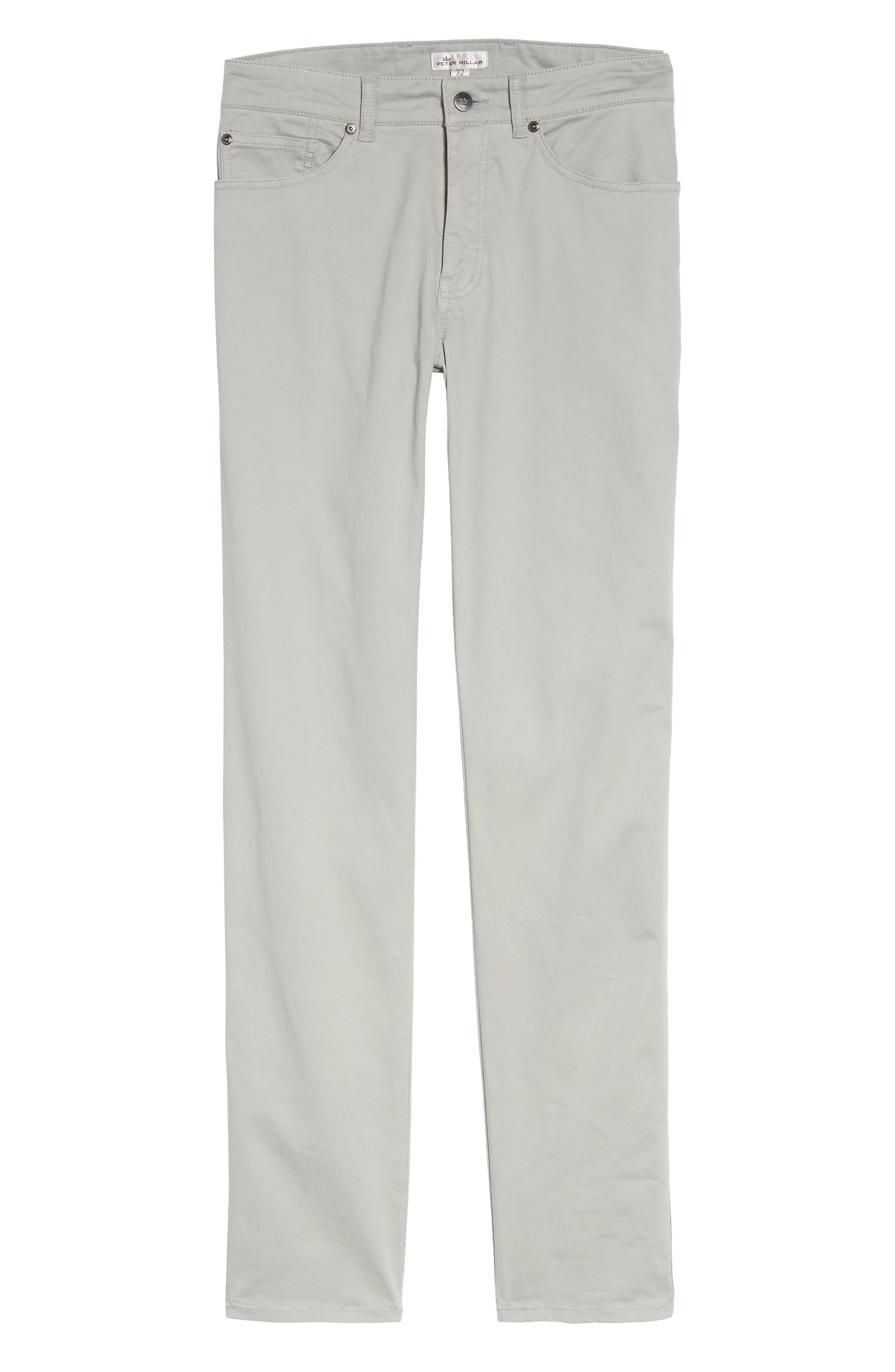 Stretch Sateen Five-Pocket Pants,                             Alternate thumbnail 6, color,                             050