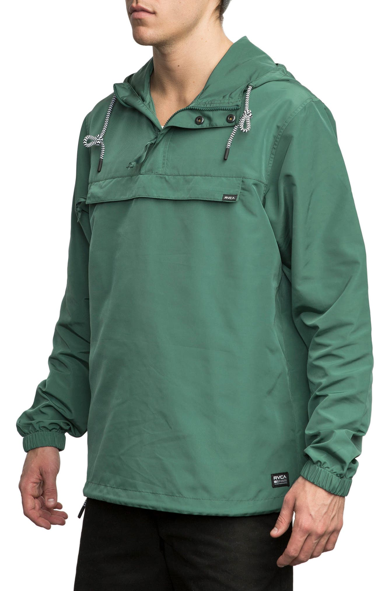 Packaway Hooded Anorak,                             Alternate thumbnail 8, color,