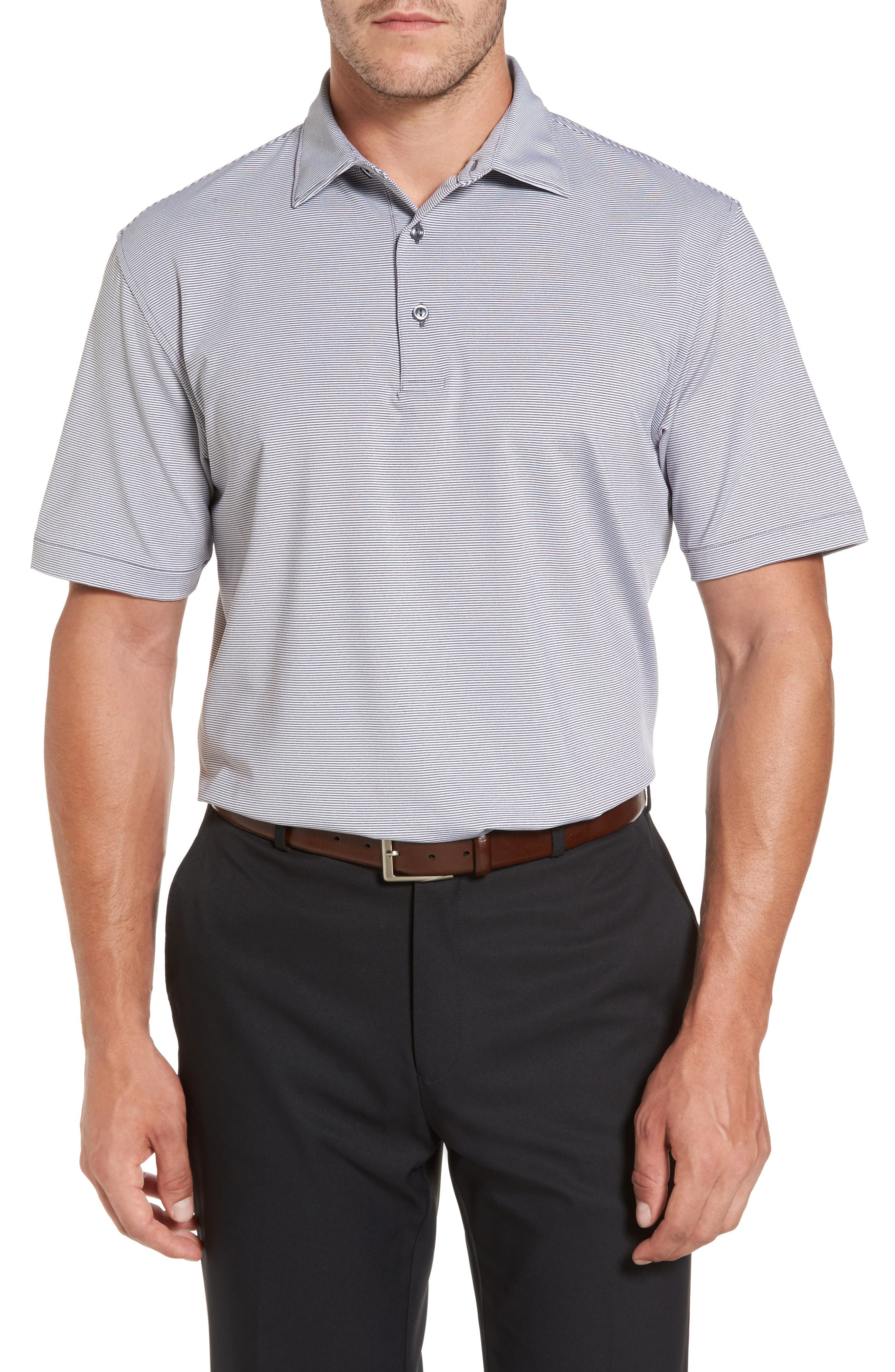 Sean Jubilee Stripe Jersey Polo,                         Main,                         color, 035