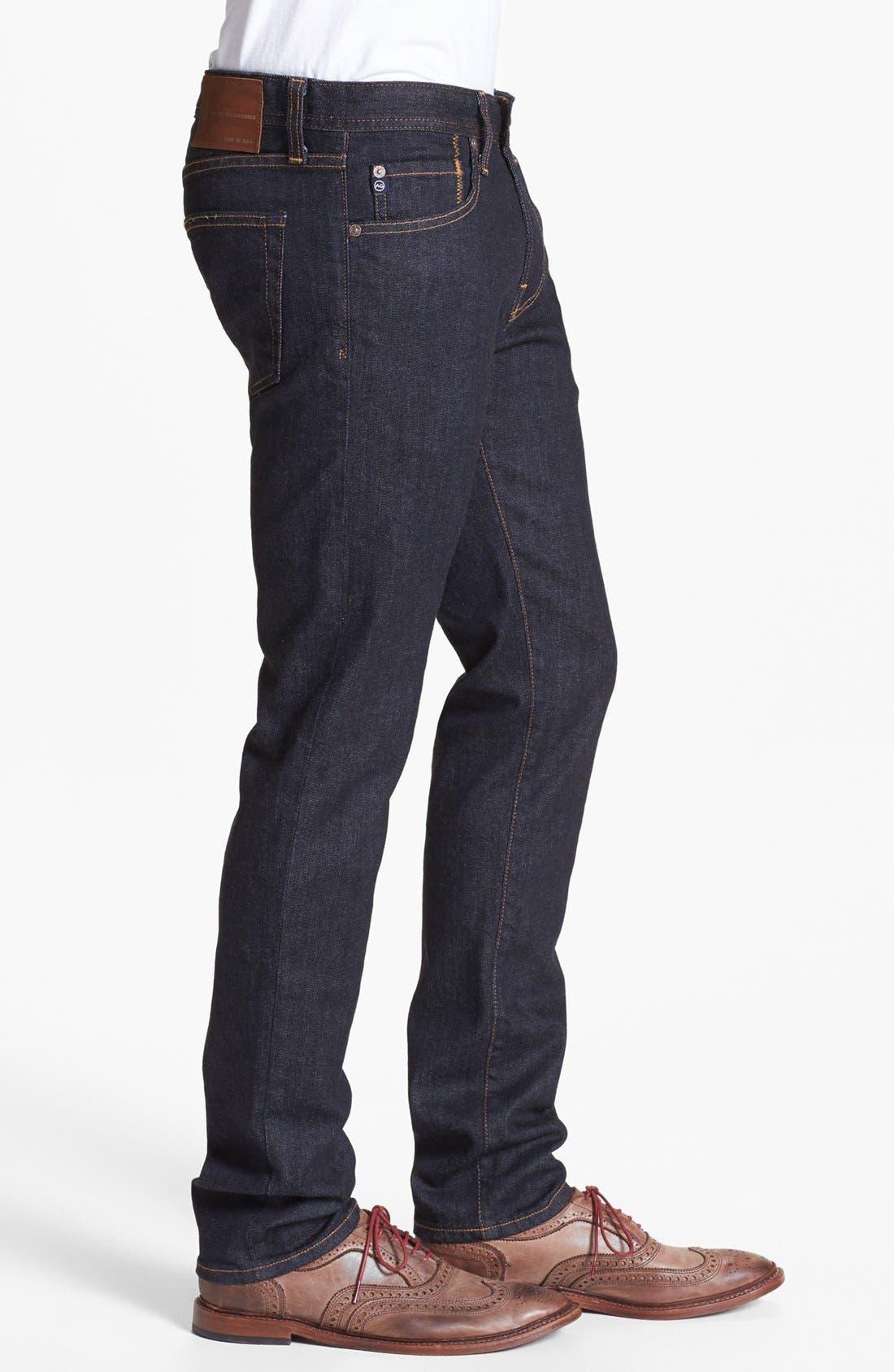 AG,                             'Dylan' Skinny Fit Jeans,                             Alternate thumbnail 3, color,                             JACK
