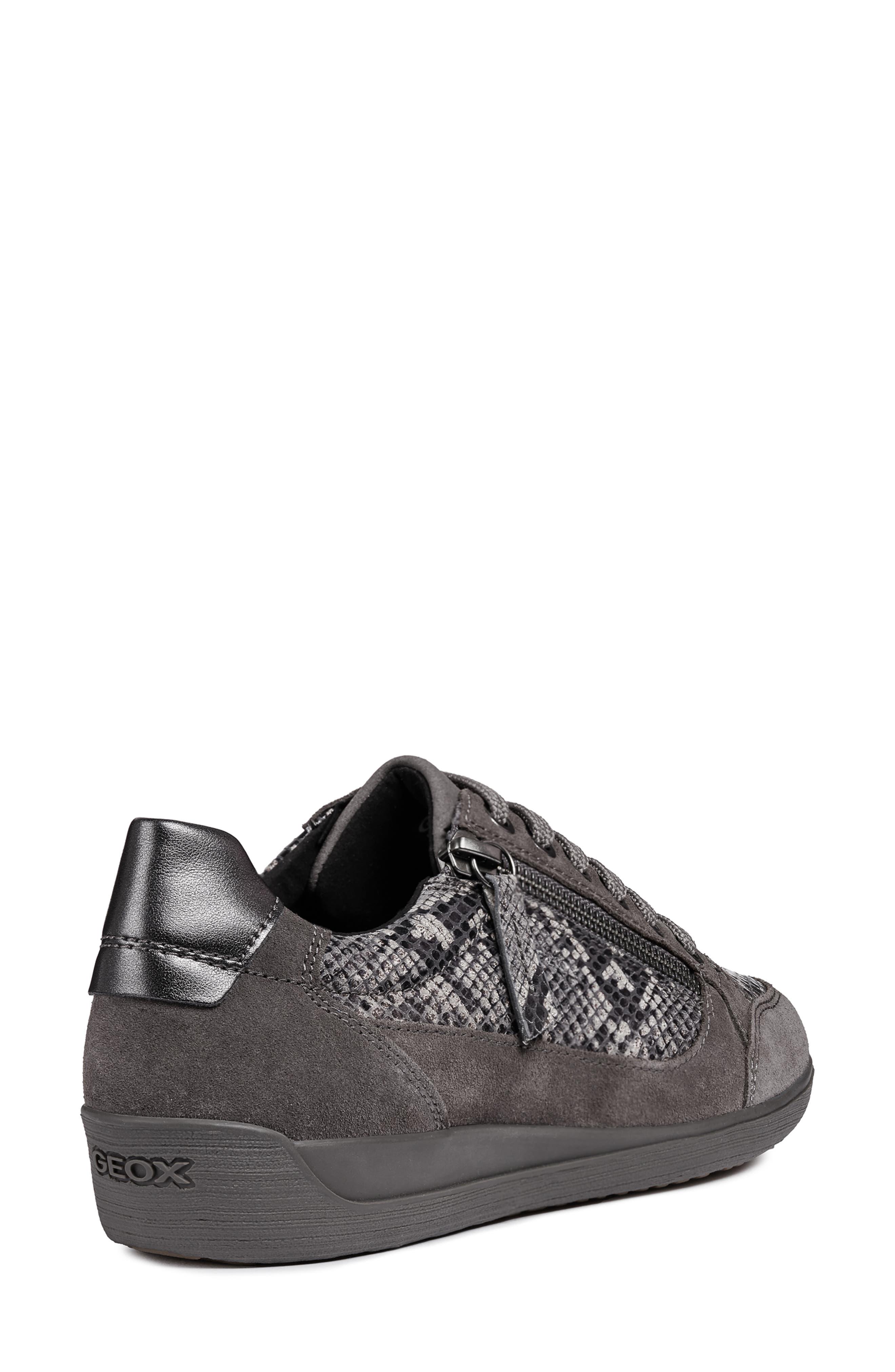 Myria Sneaker,                             Alternate thumbnail 2, color,                             DARK GREY SUEDE