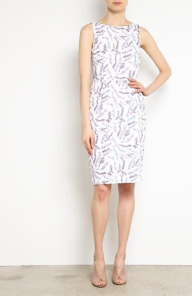 Melfi Print Cotton Sheath Dress, video thumbnail