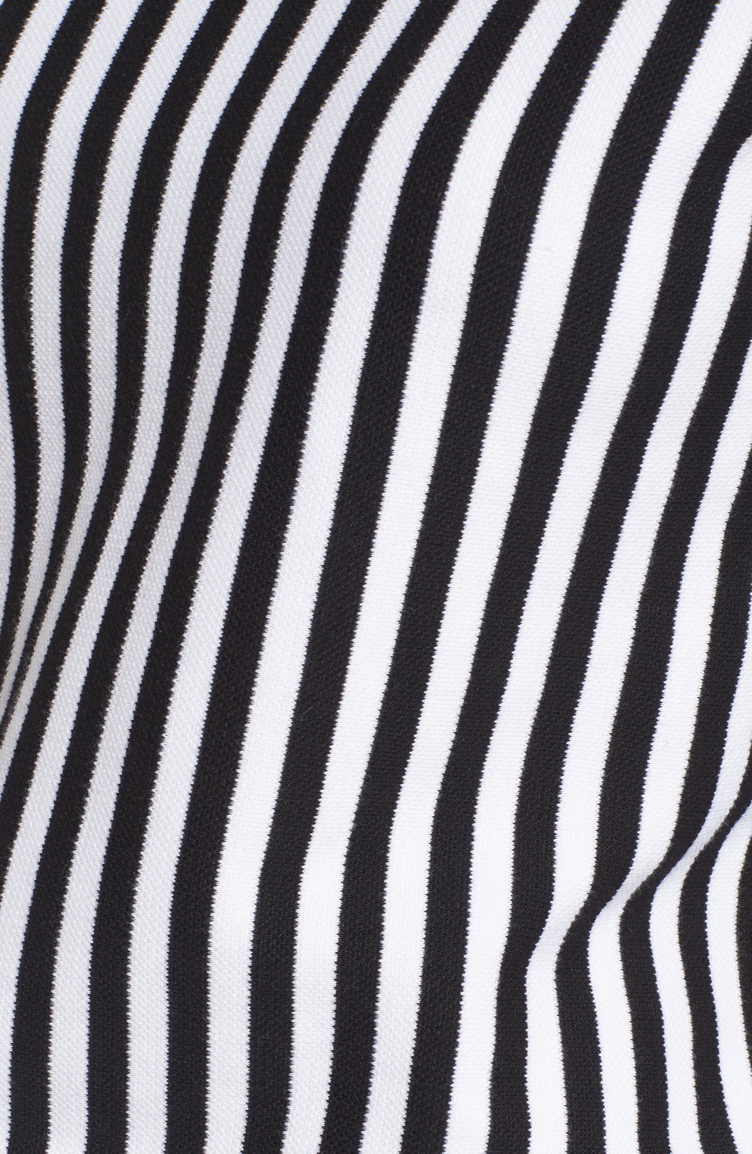Mock Neck Tee Dress,                             Alternate thumbnail 5, color,                             014
