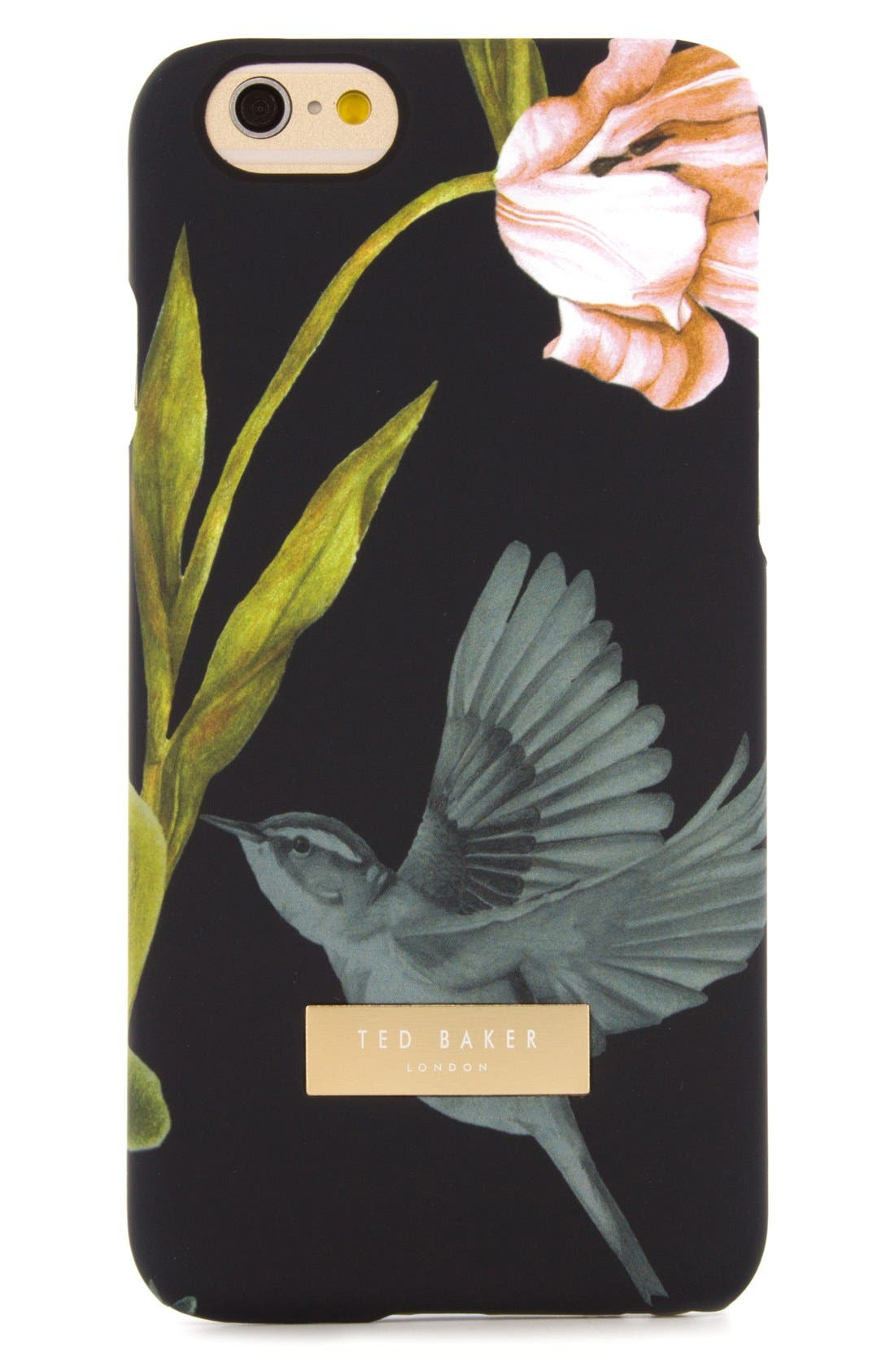 TED BAKER LONDON,                             Dobos iPhone 6/6s Case,                             Alternate thumbnail 3, color,                             001