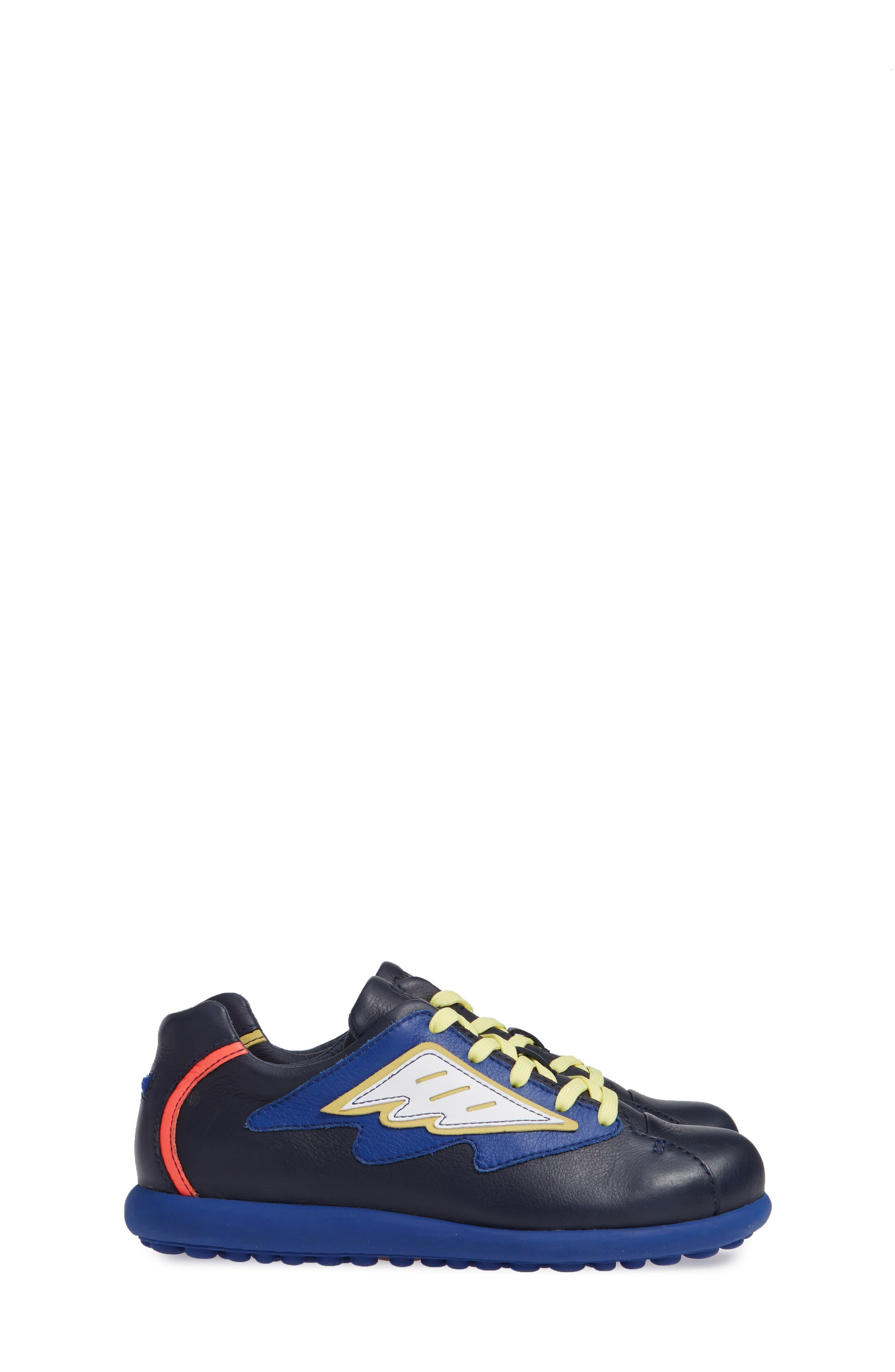 TWS Kids Sneaker,                             Alternate thumbnail 4, color,                             BLUE MULTI