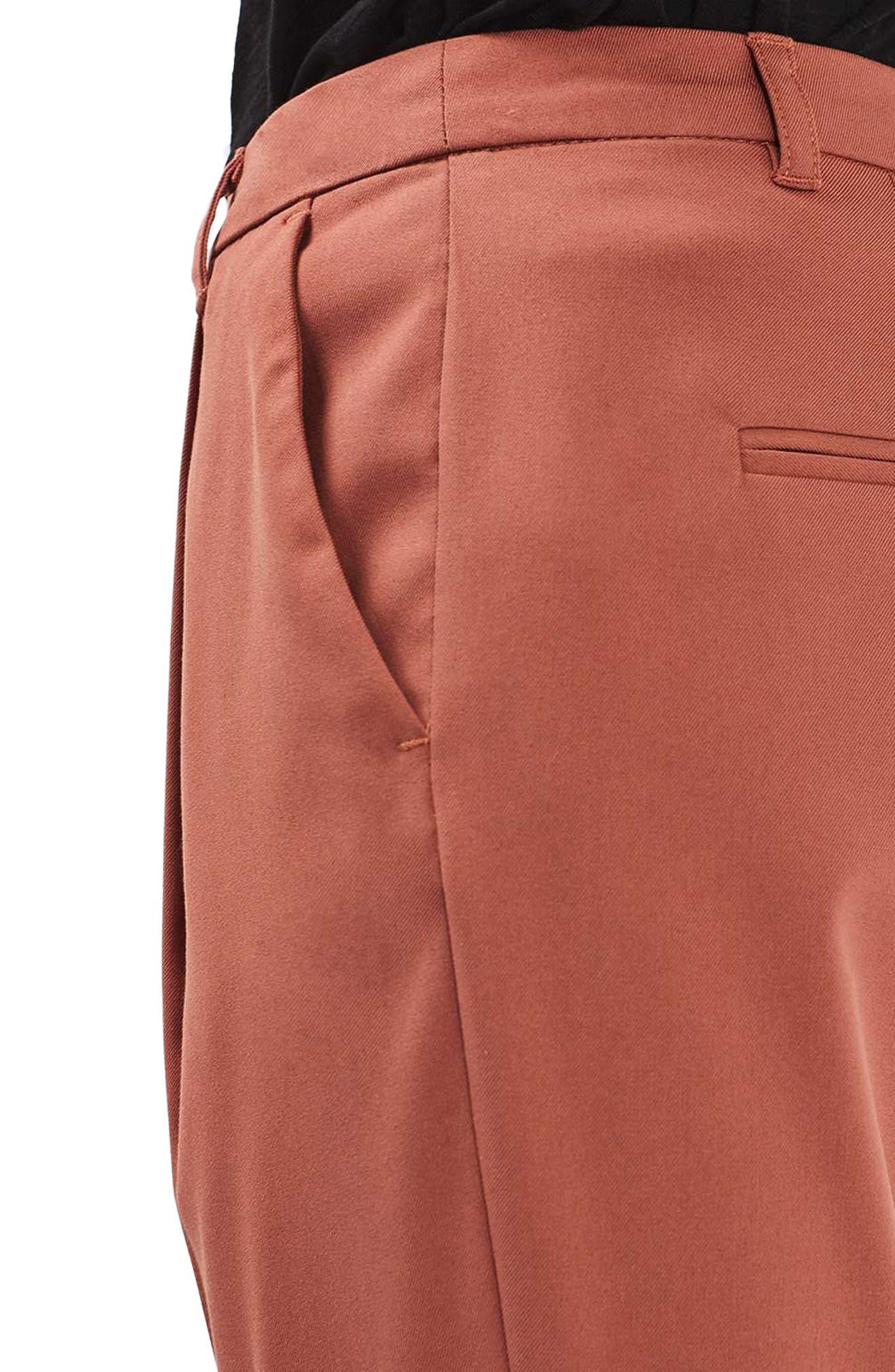 Peg Leg Trousers,                             Alternate thumbnail 4, color,                             220