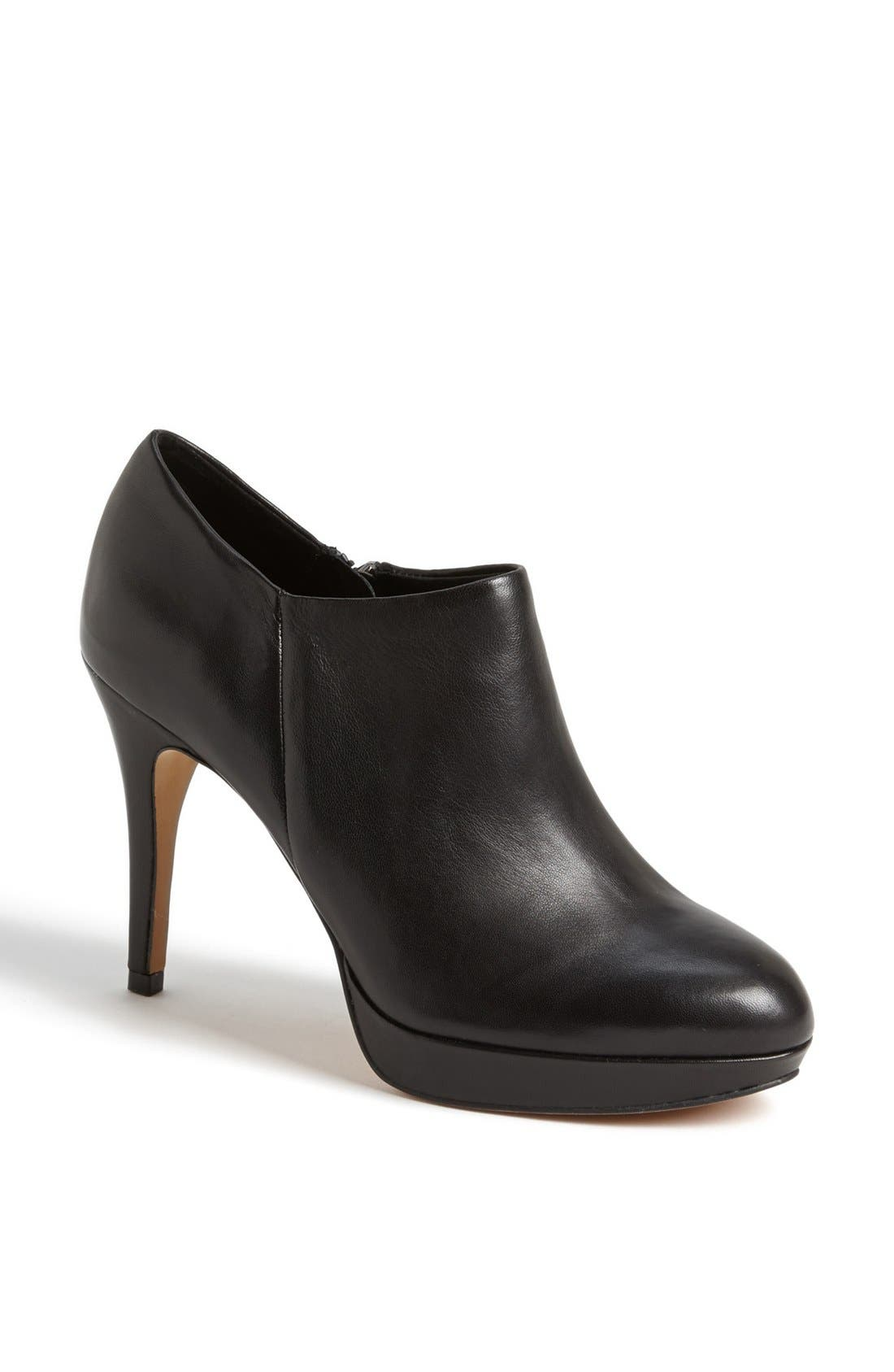 'Elvin' Bootie,                             Main thumbnail 1, color,                             BLACK NAPPA