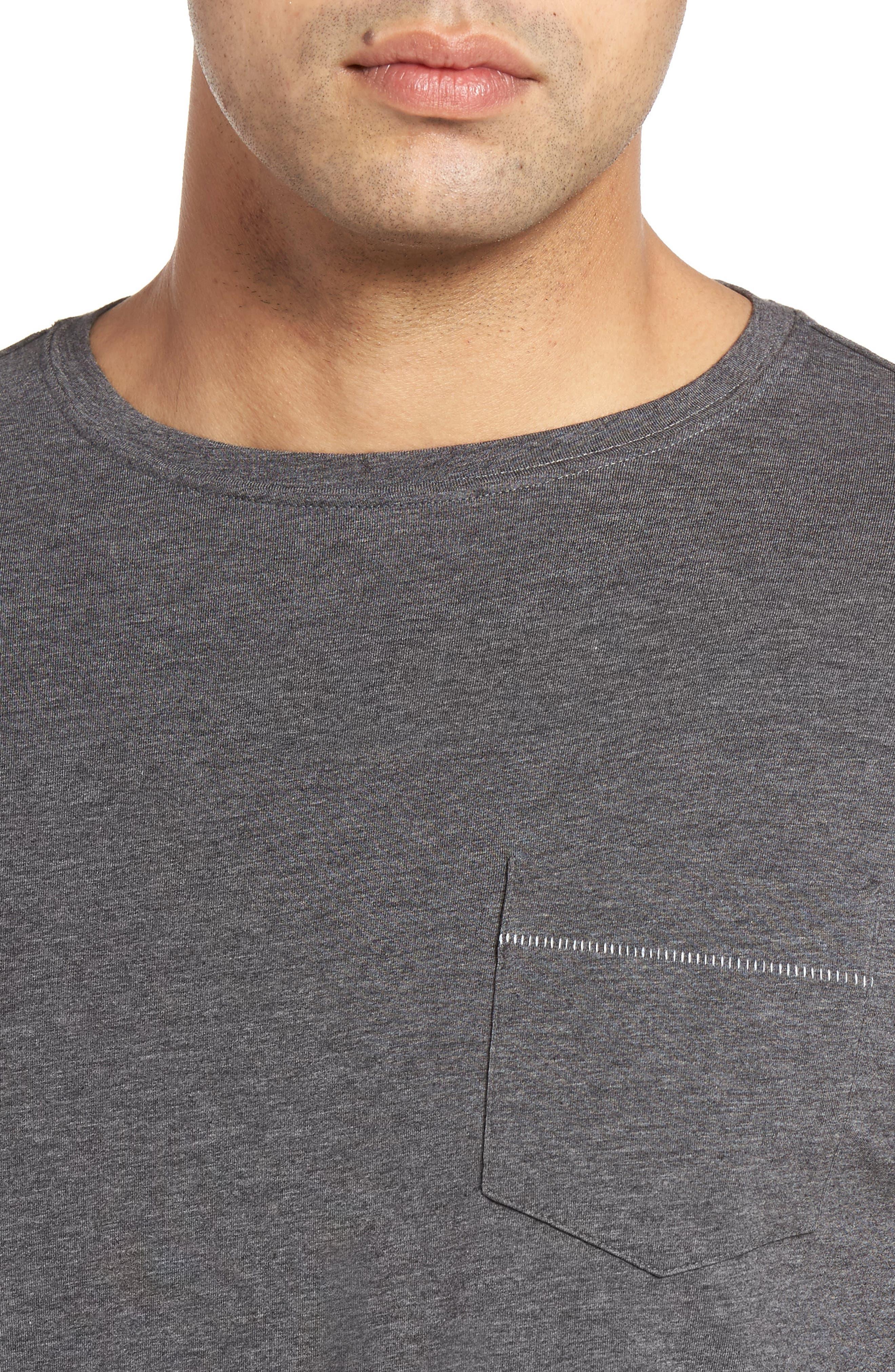 BOBBY JONES,                             R18 Pocket T-Shirt,                             Alternate thumbnail 4, color,                             011