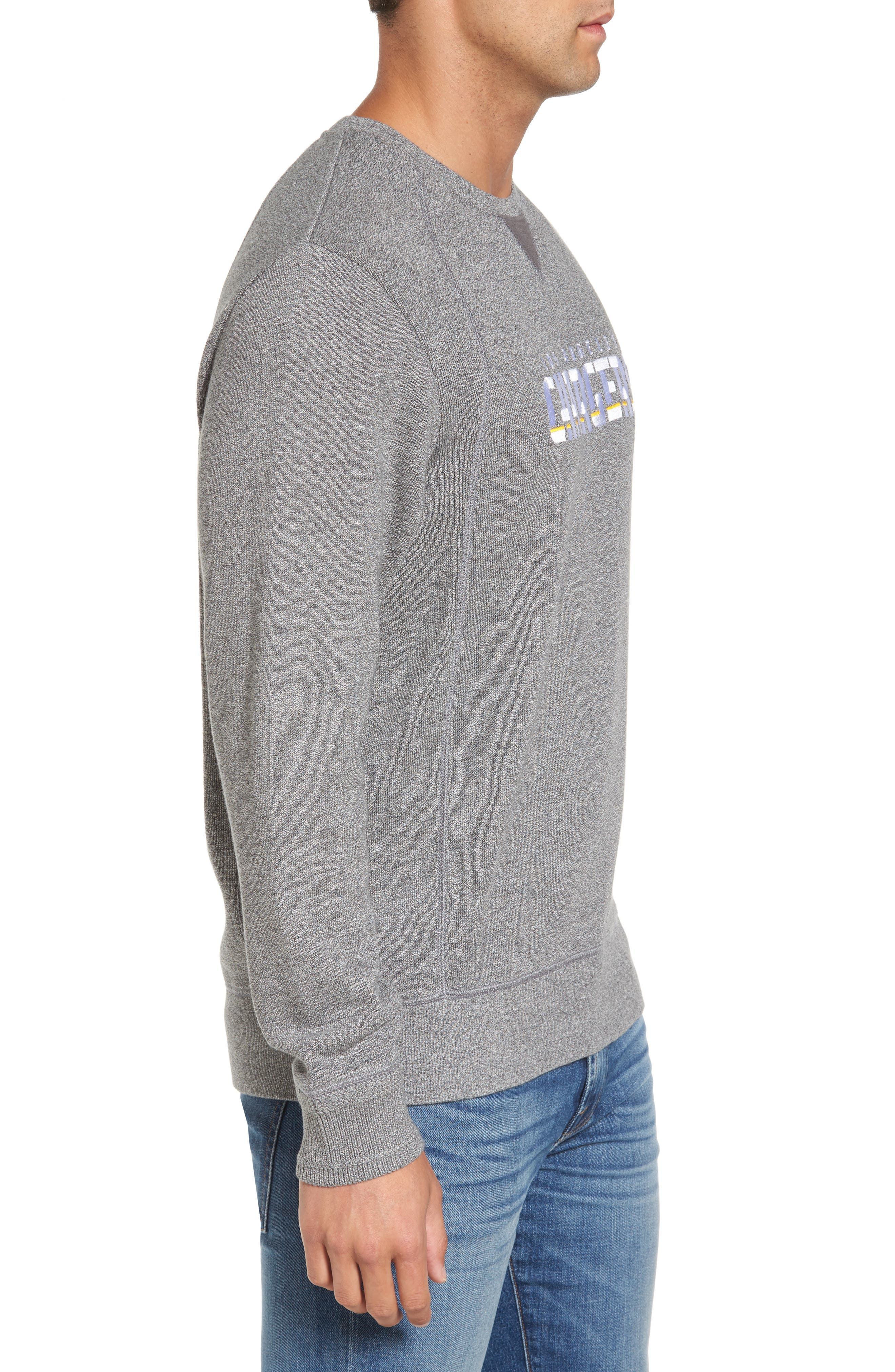 NFL Stitch of Liberty Embroidered Crewneck Sweatshirt,                             Alternate thumbnail 71, color,