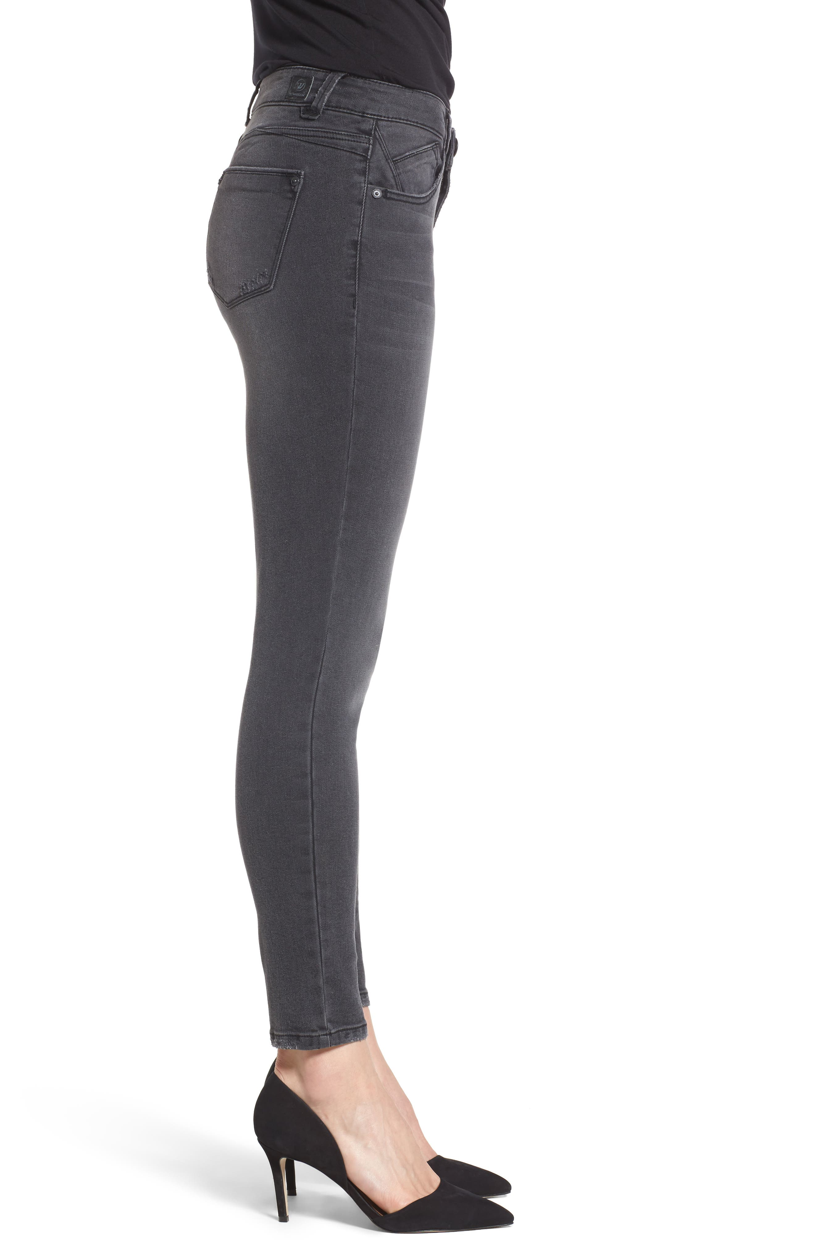 Skinny Ankle Jeans,                             Alternate thumbnail 3, color,                             020