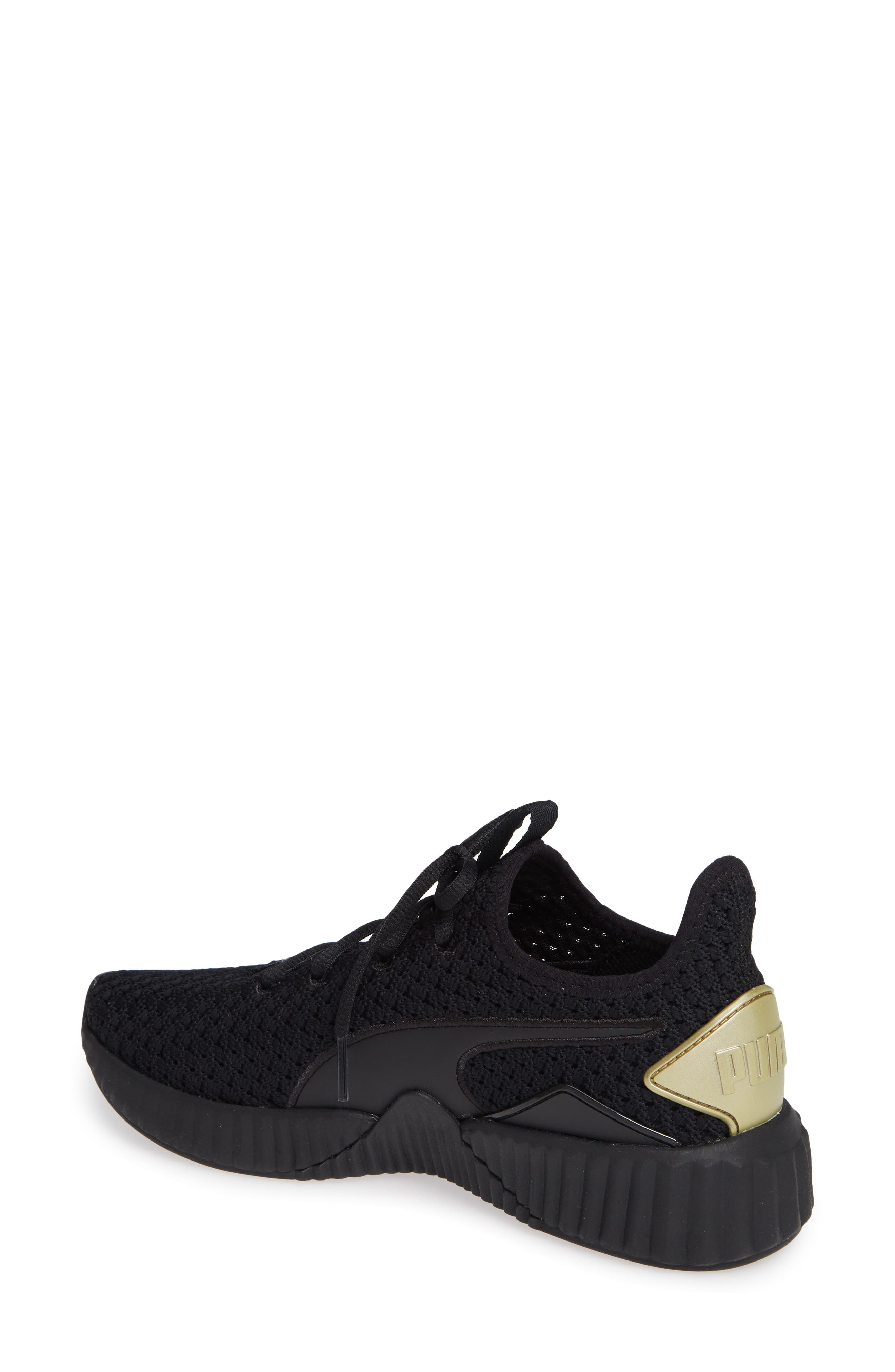 Defy Varsity Sneaker,                             Alternate thumbnail 2, color,                             001