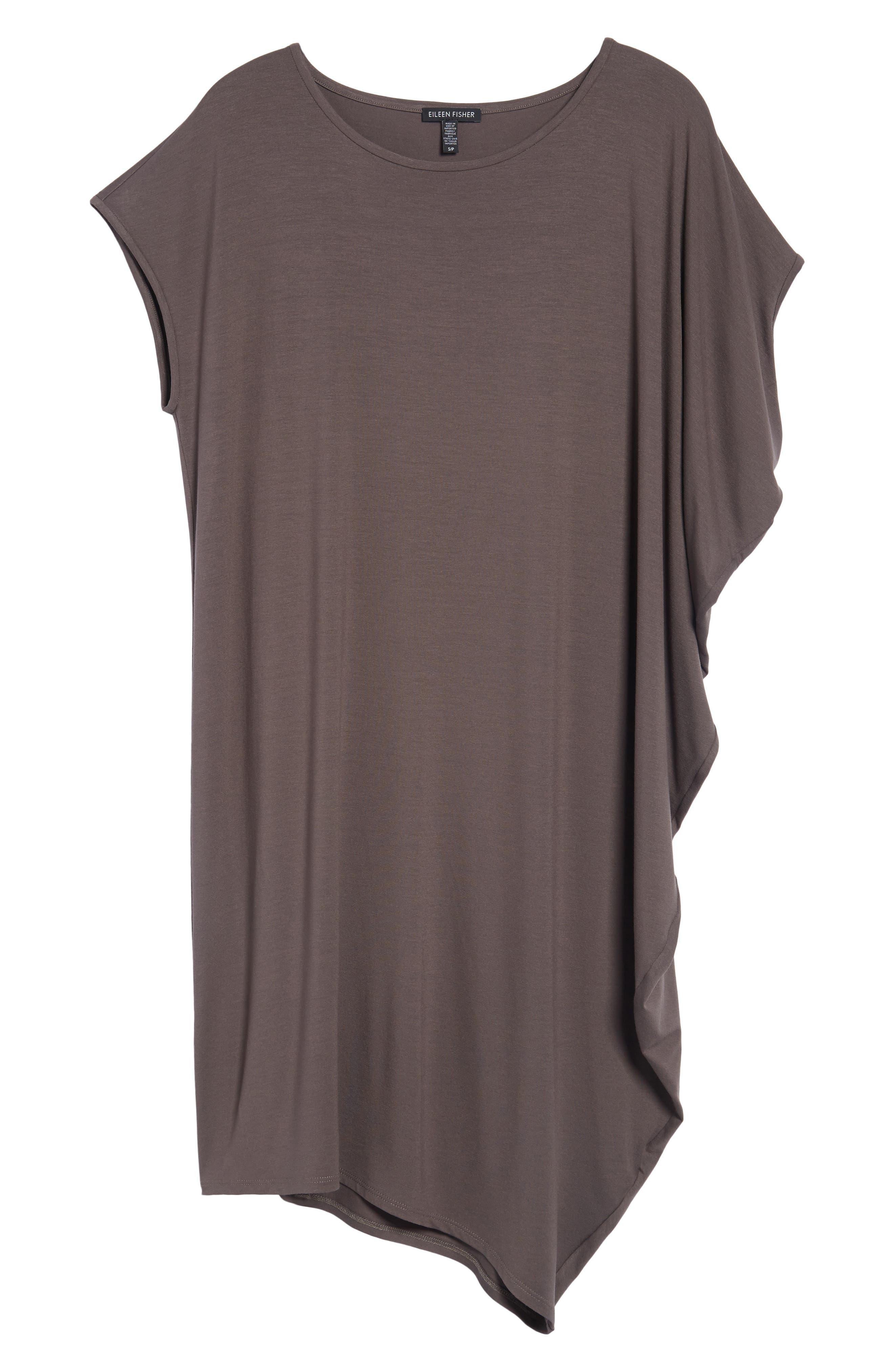 Asymmetrical Jersey Shift Dress,                             Alternate thumbnail 22, color,