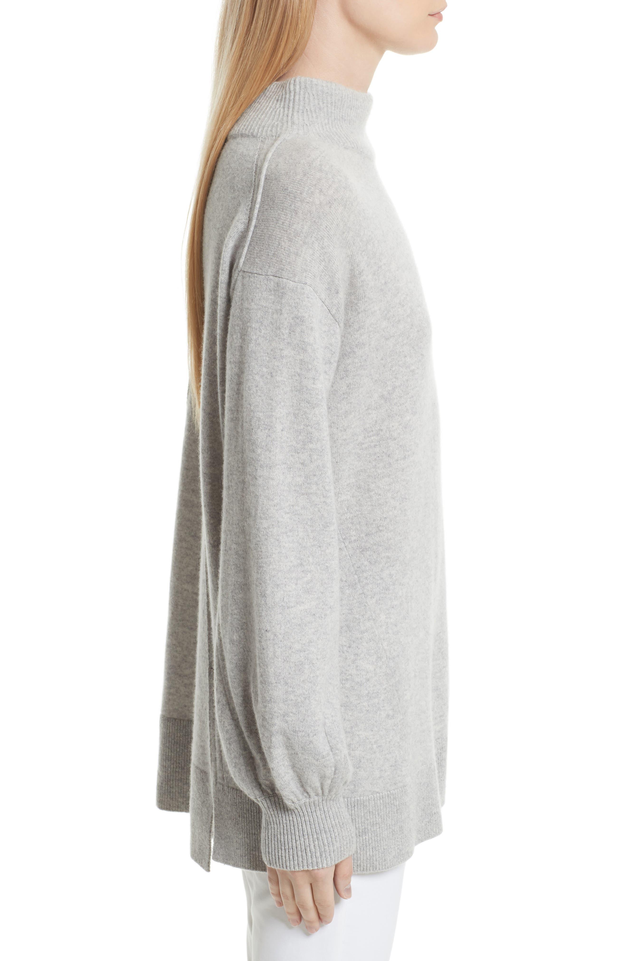Ace Cashmere Turtleneck Sweater,                             Alternate thumbnail 3, color,                             058