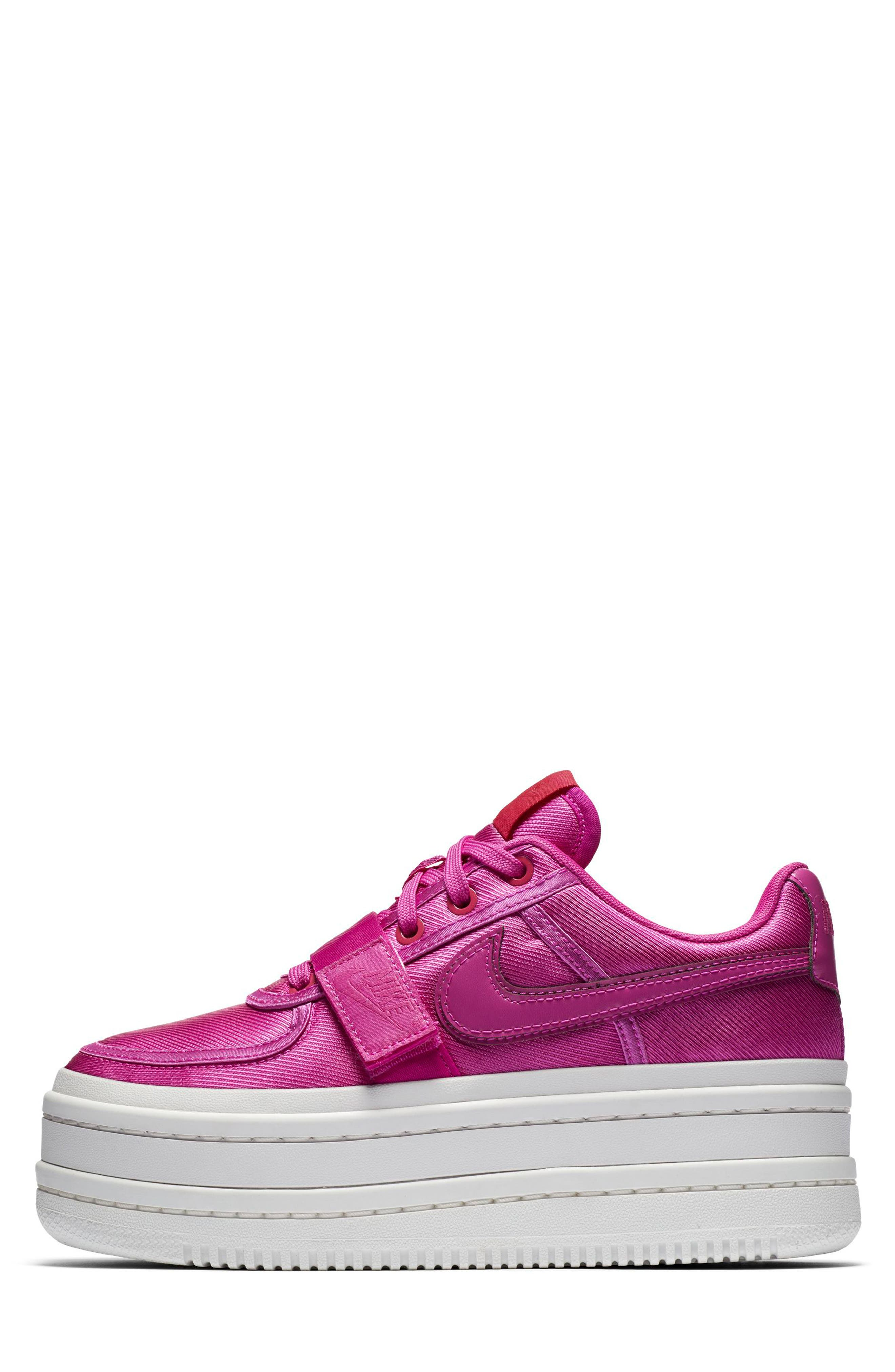 Vandal 2K Sneaker,                             Alternate thumbnail 3, color,                             HYPER MAGENTA/ SUMMIT/ FUCHSIA