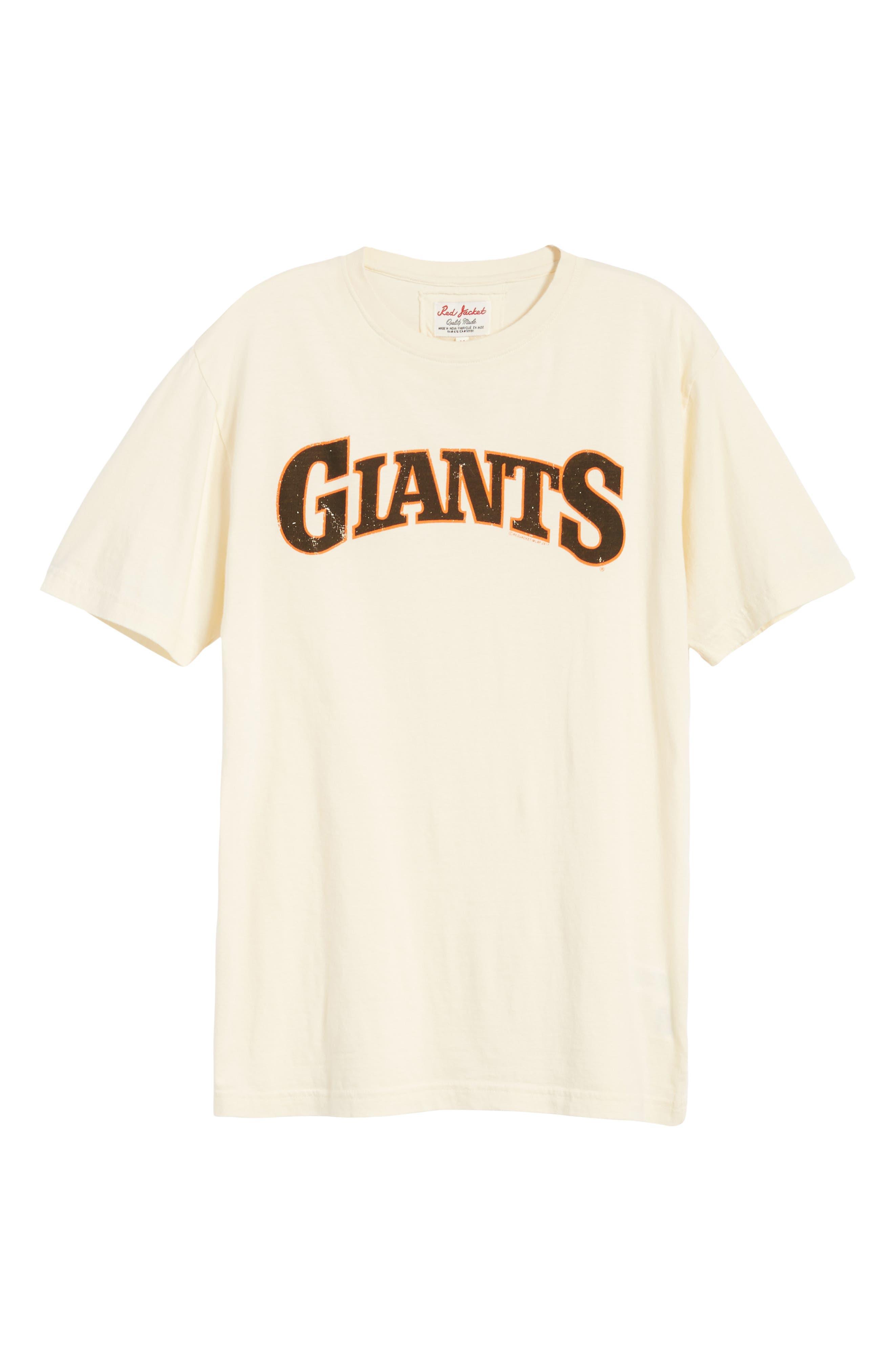 Brass Tack San Francisco Giants T-Shirt,                             Alternate thumbnail 6, color,                             124