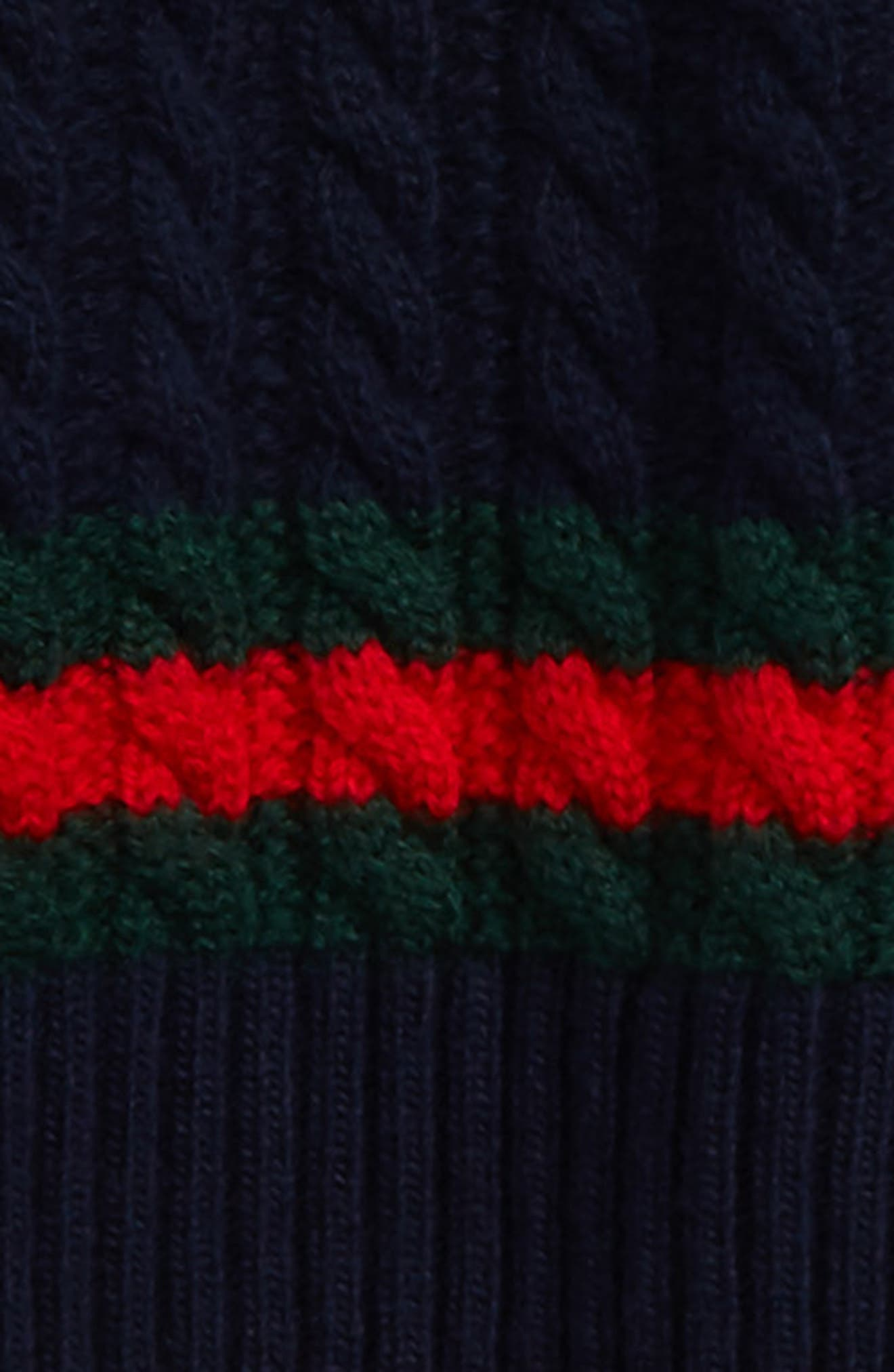 Cable Knit Wool Sweater,                             Alternate thumbnail 2, color,                             468