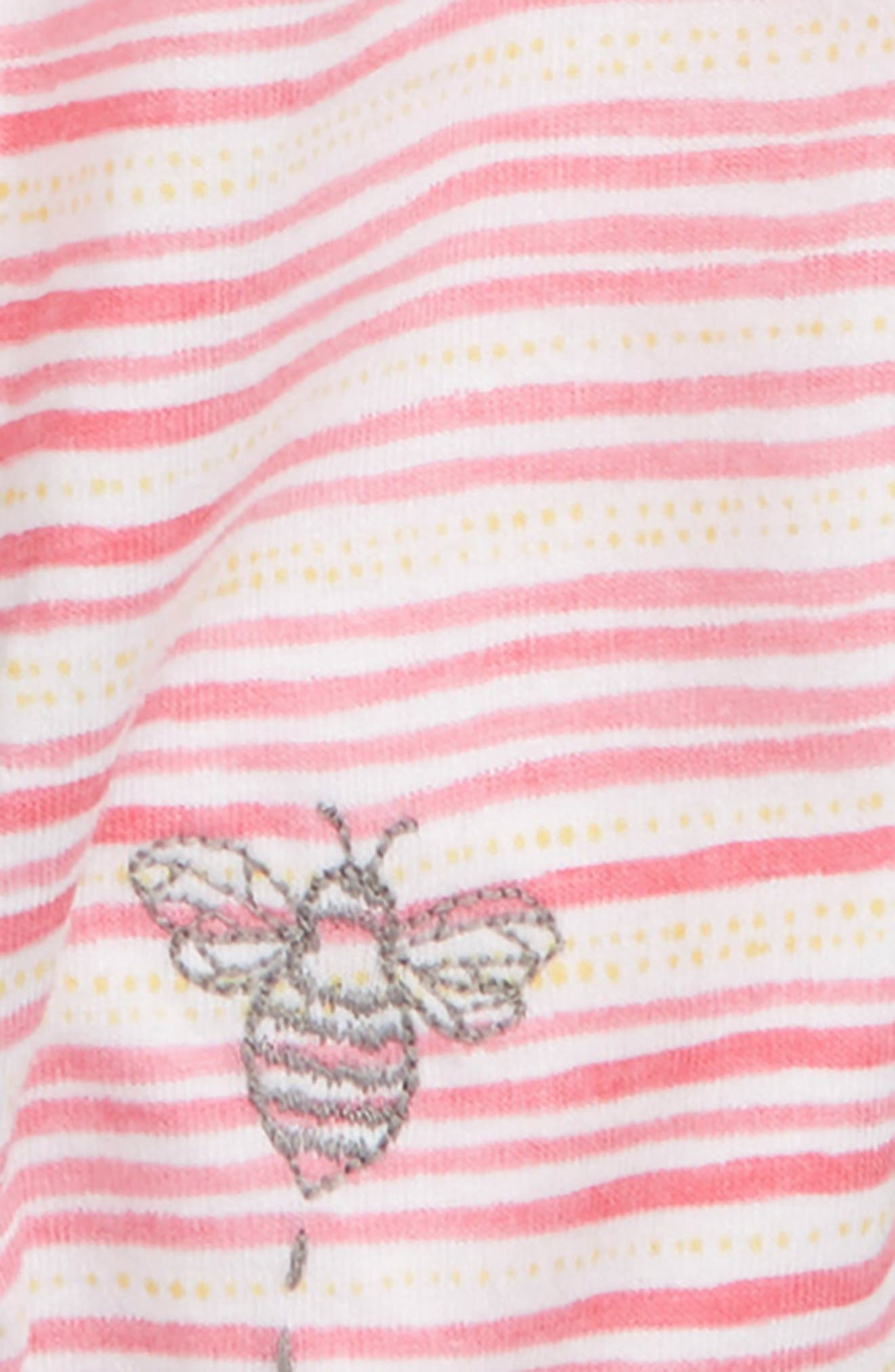 On the Road Organic Cotton Romper,                             Alternate thumbnail 2, color,                             PINK POPPY