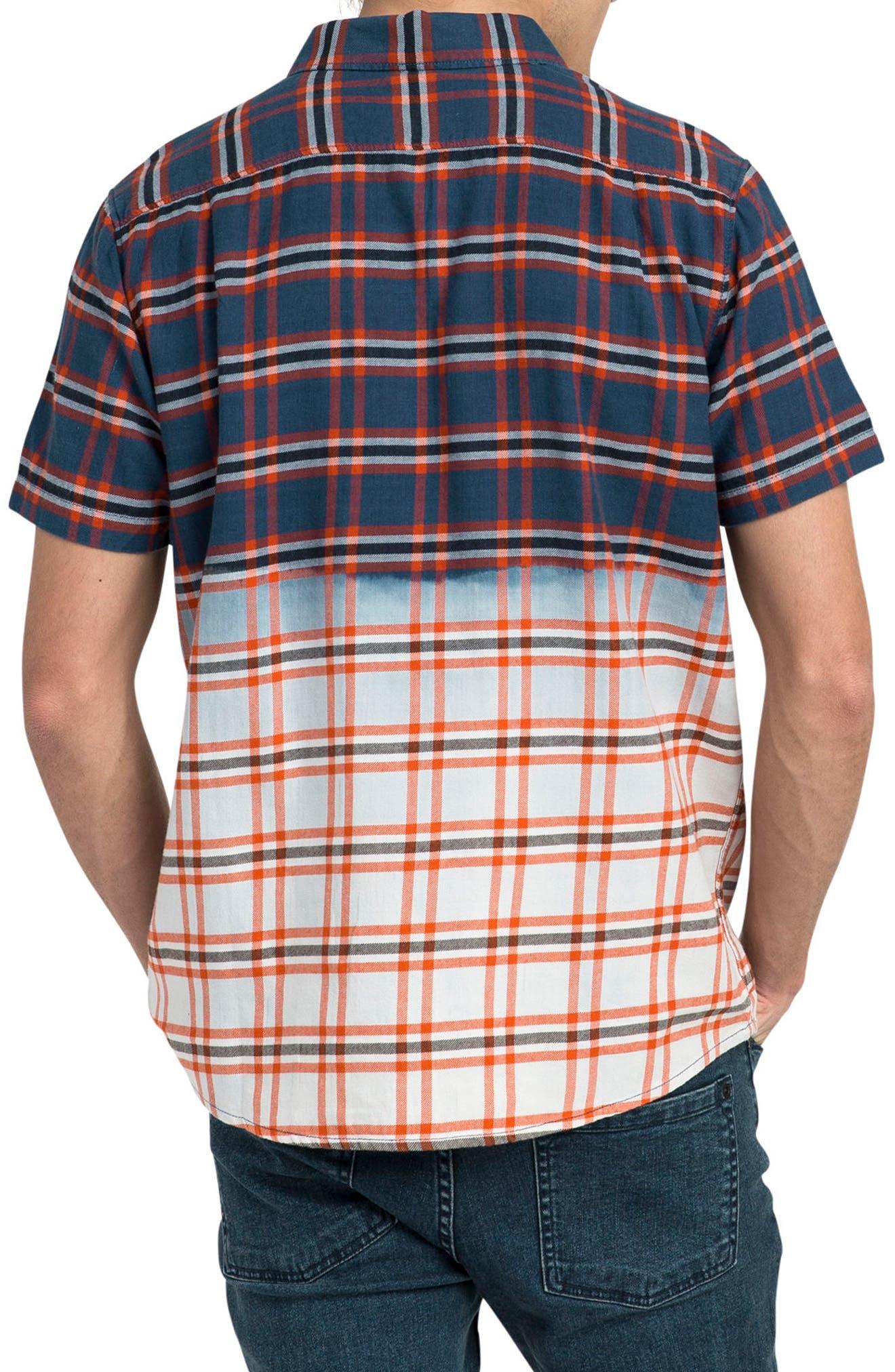 Prismatic Check Woven Shirt,                             Alternate thumbnail 2, color,                             458