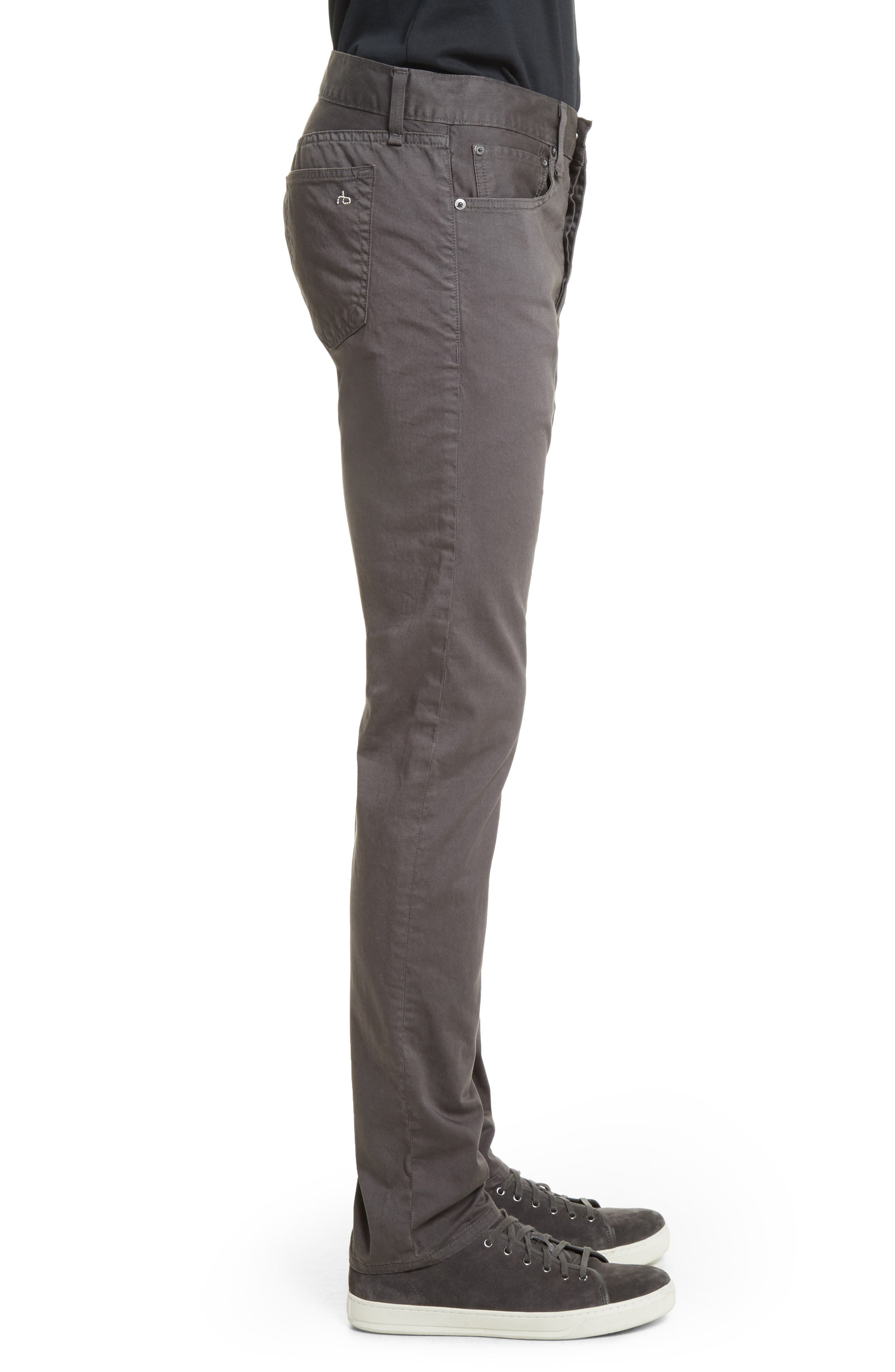 Fit 2 Slim Five-Pocket Pants,                             Alternate thumbnail 3, color,                             GREY