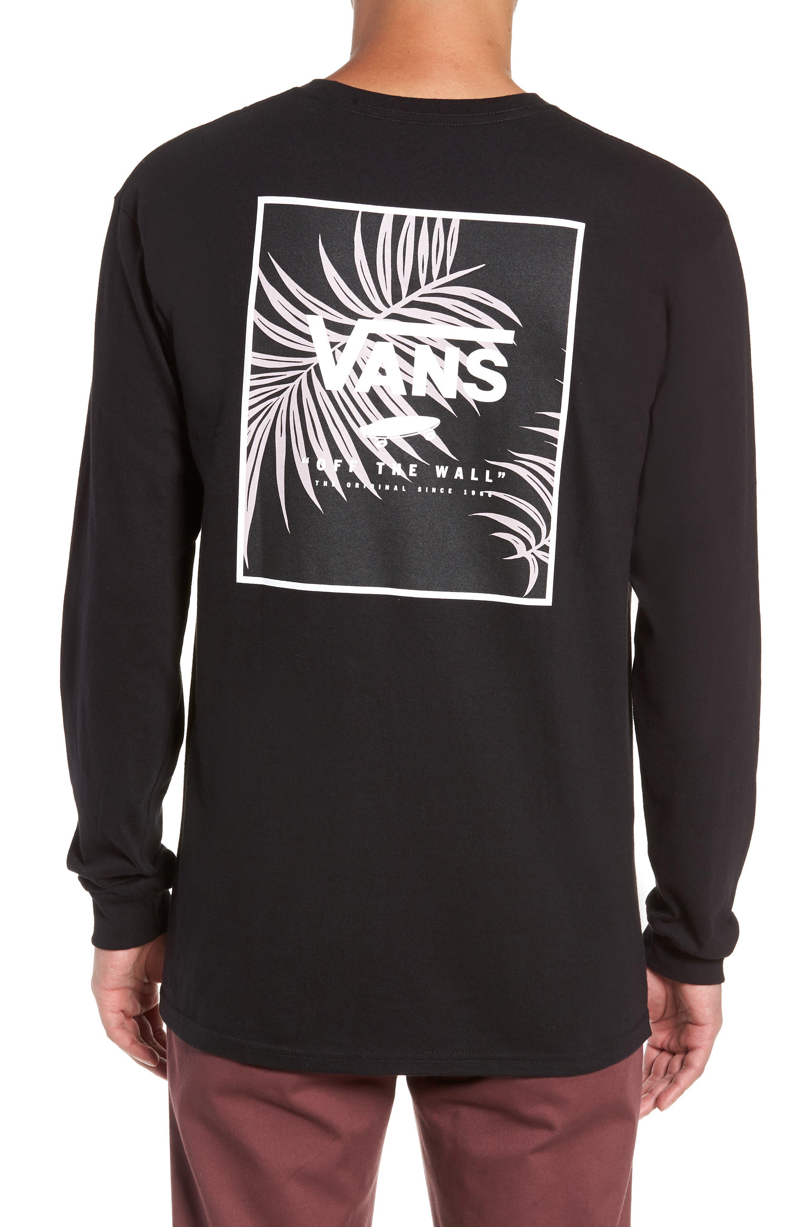 Print Box Long Sleeve Graphic T-Shirt,                             Alternate thumbnail 2, color,                             001