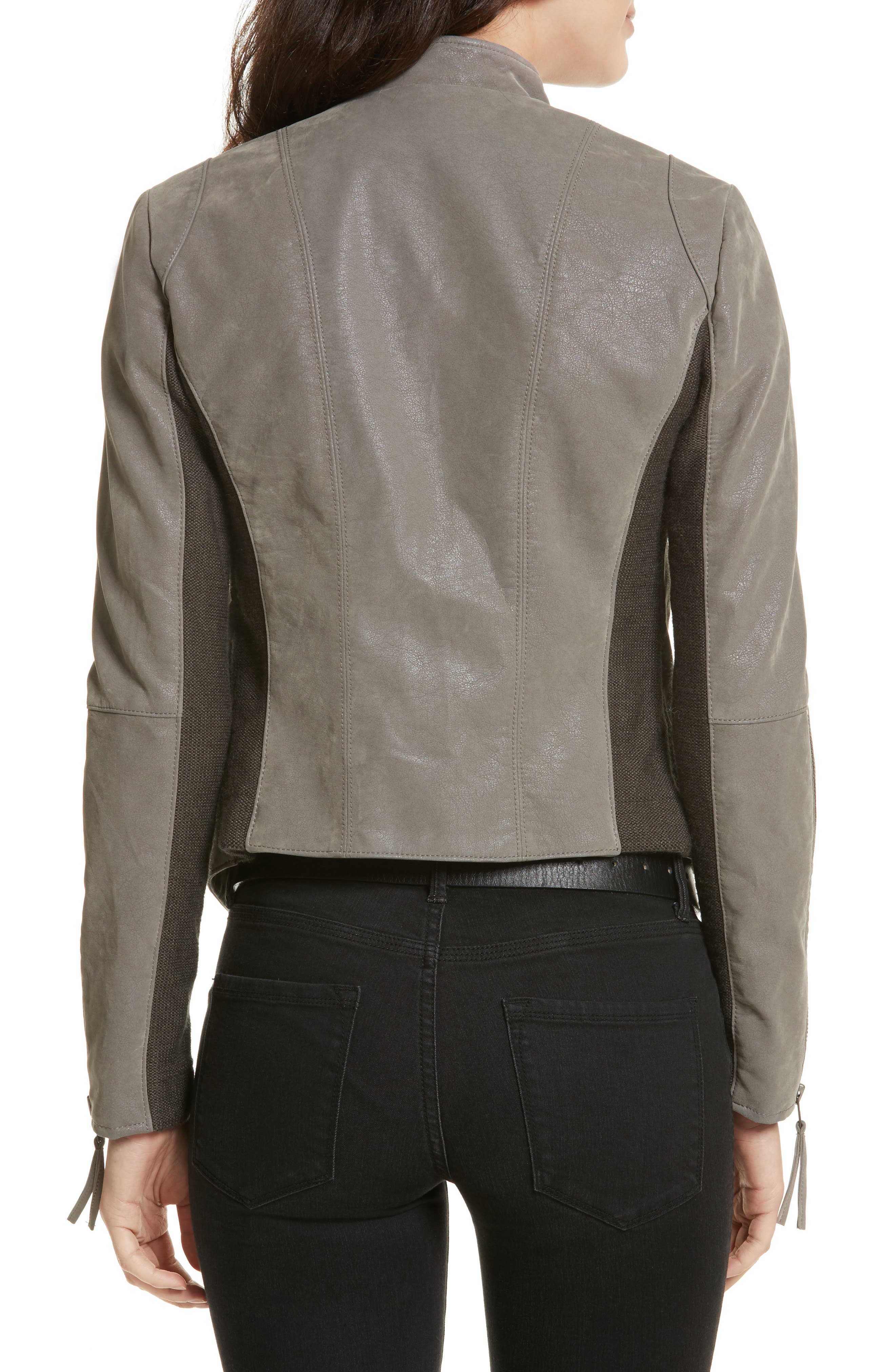 Faux Leather Jacket,                             Alternate thumbnail 2, color,                             035