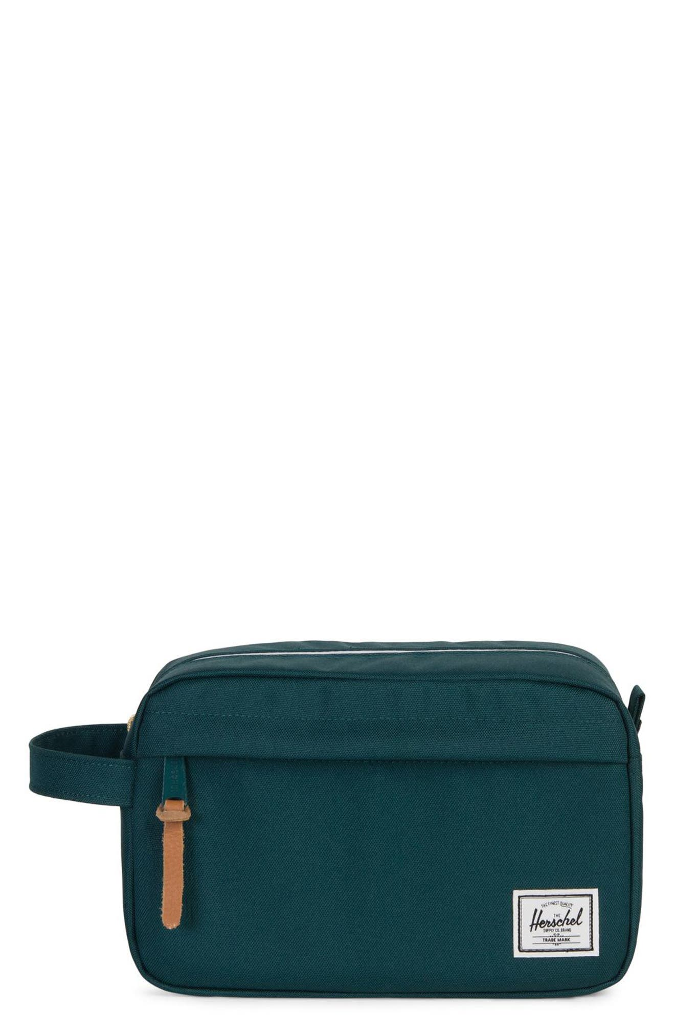 'Chapter' Toiletry Case,                         Main,                         color, DEEP TEAL