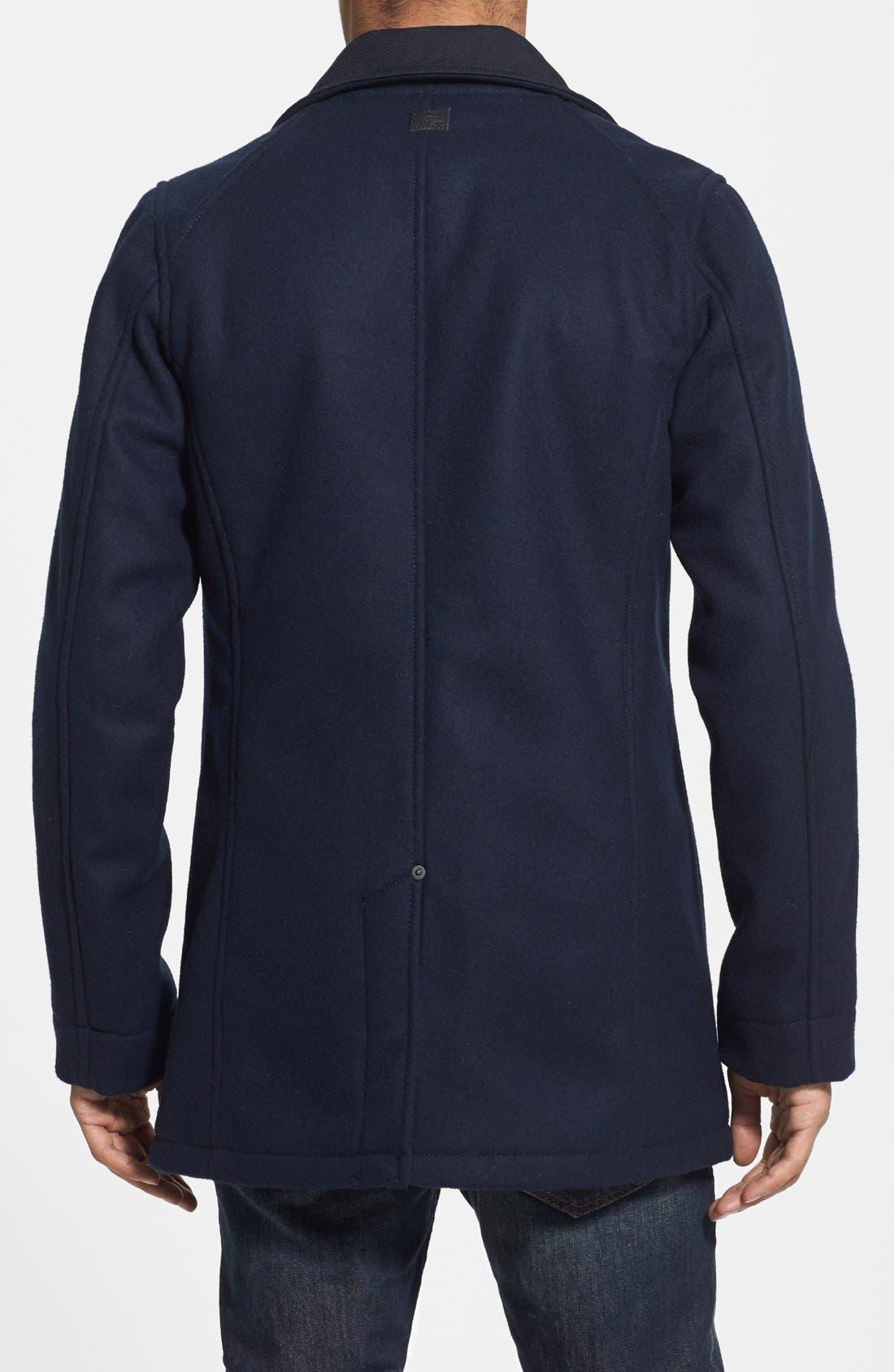 'Radar Garber' Wool Blend Jacket,                             Alternate thumbnail 3, color,                             400