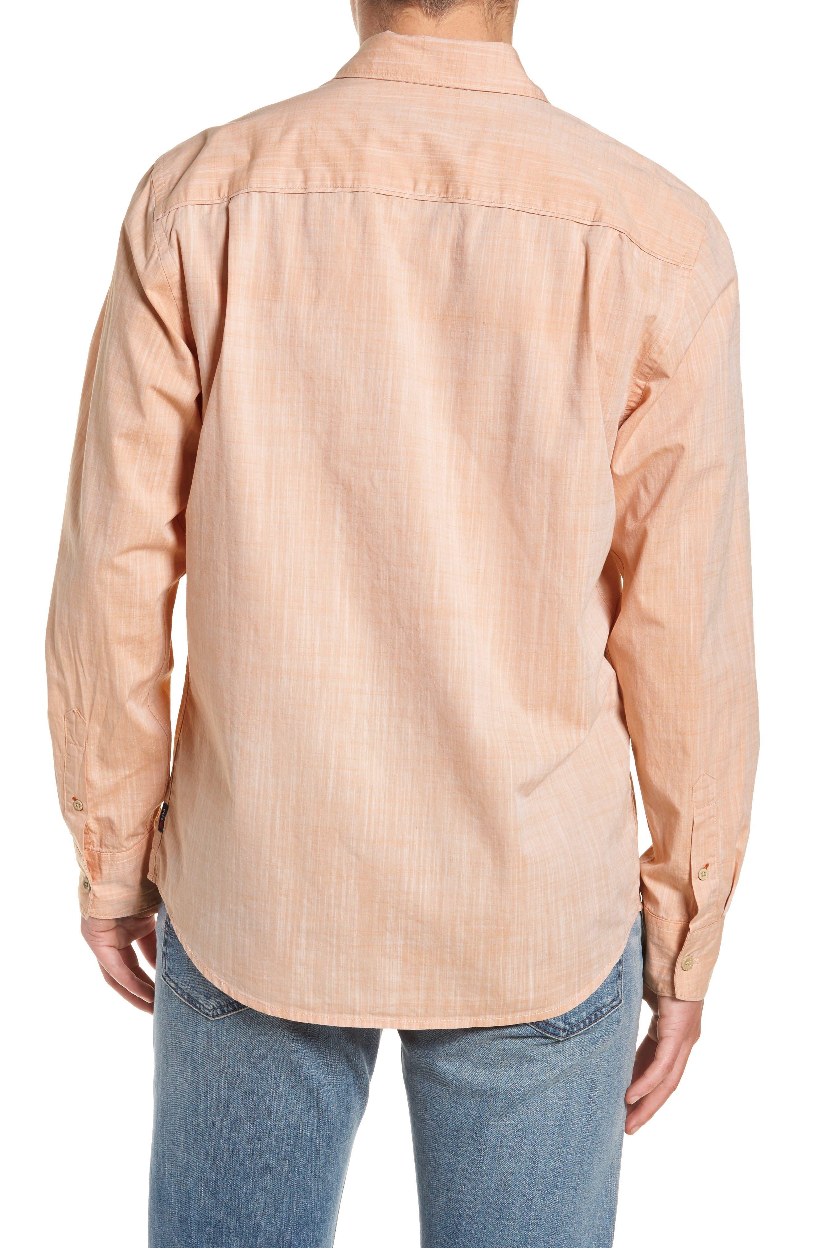 Mai Tai Regular Fit Sport Shirt,                             Alternate thumbnail 2, color,