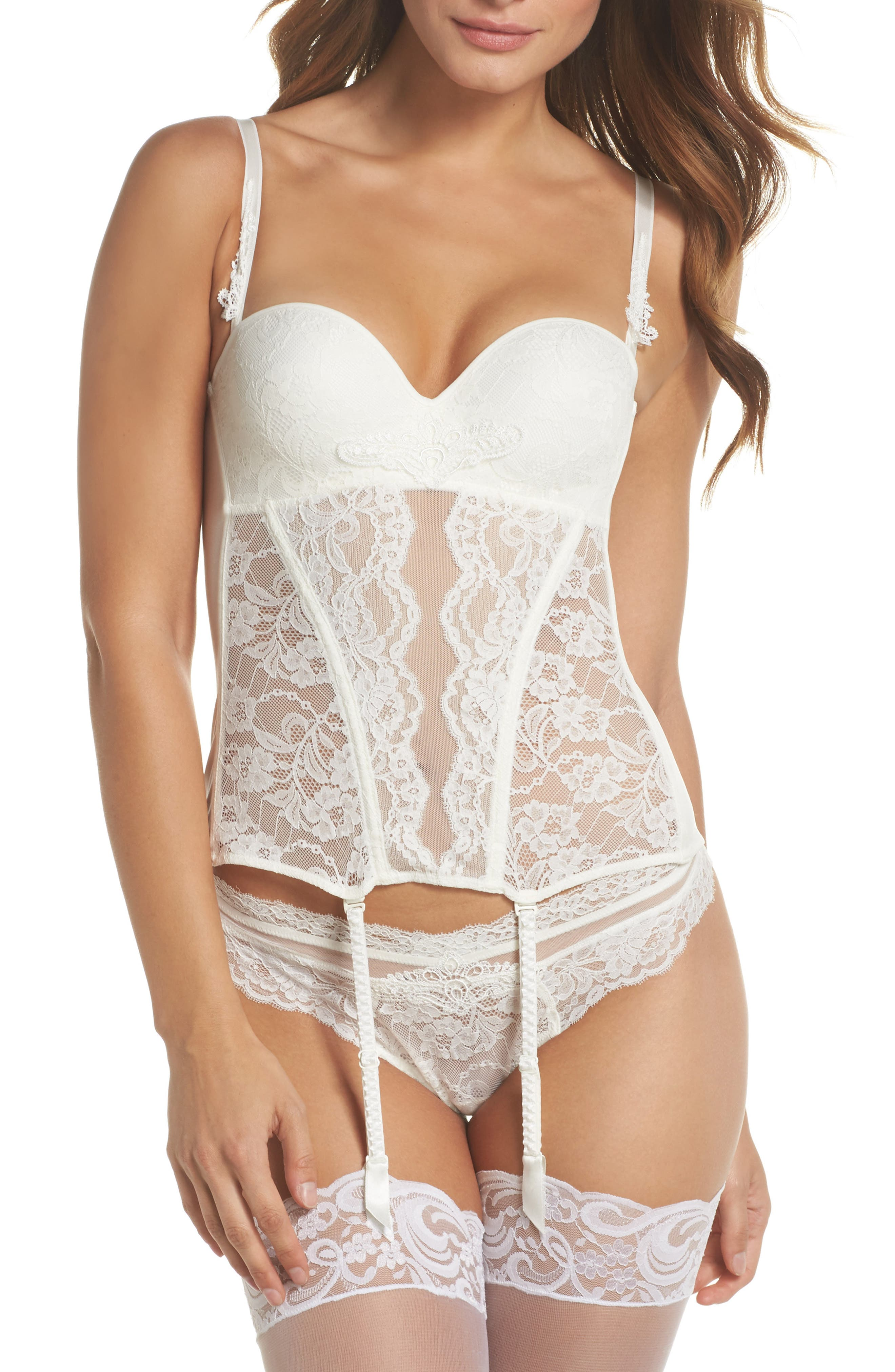 Exception Charme Thong,                             Alternate thumbnail 6, color,                             NACRE