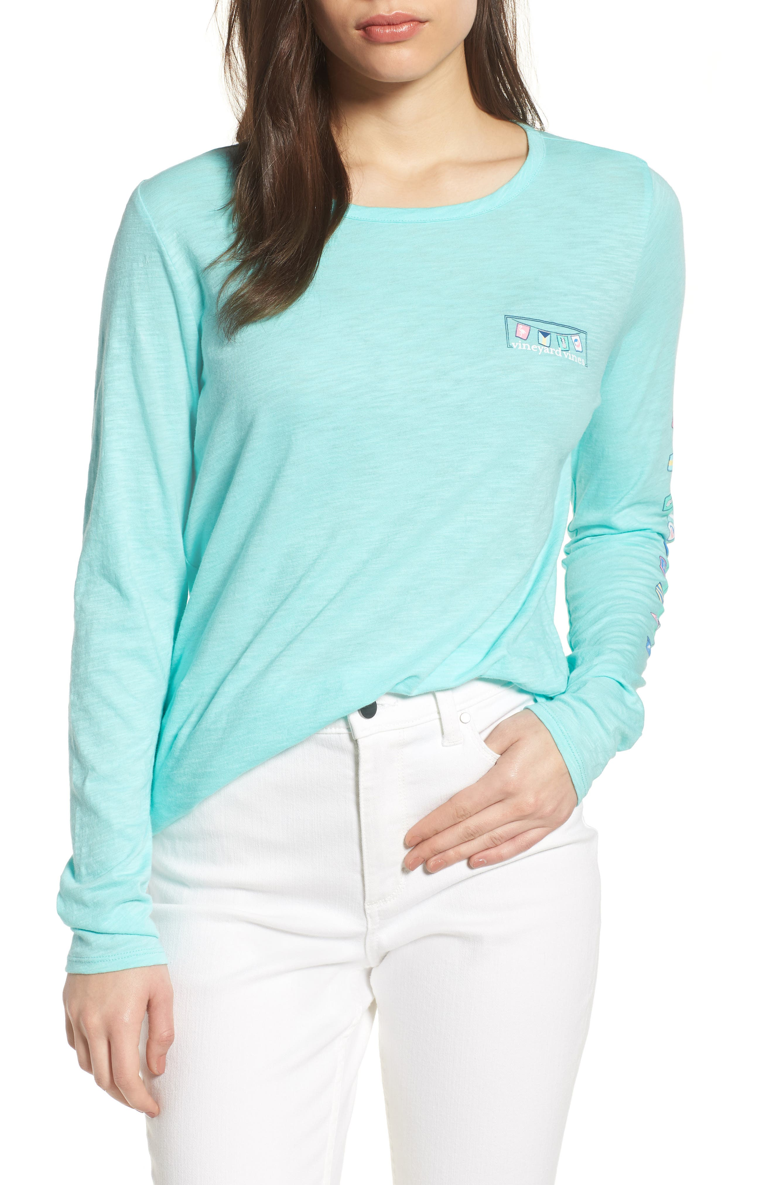 Rafter Long Sleeve Cotton Tee,                         Main,                         color, 416