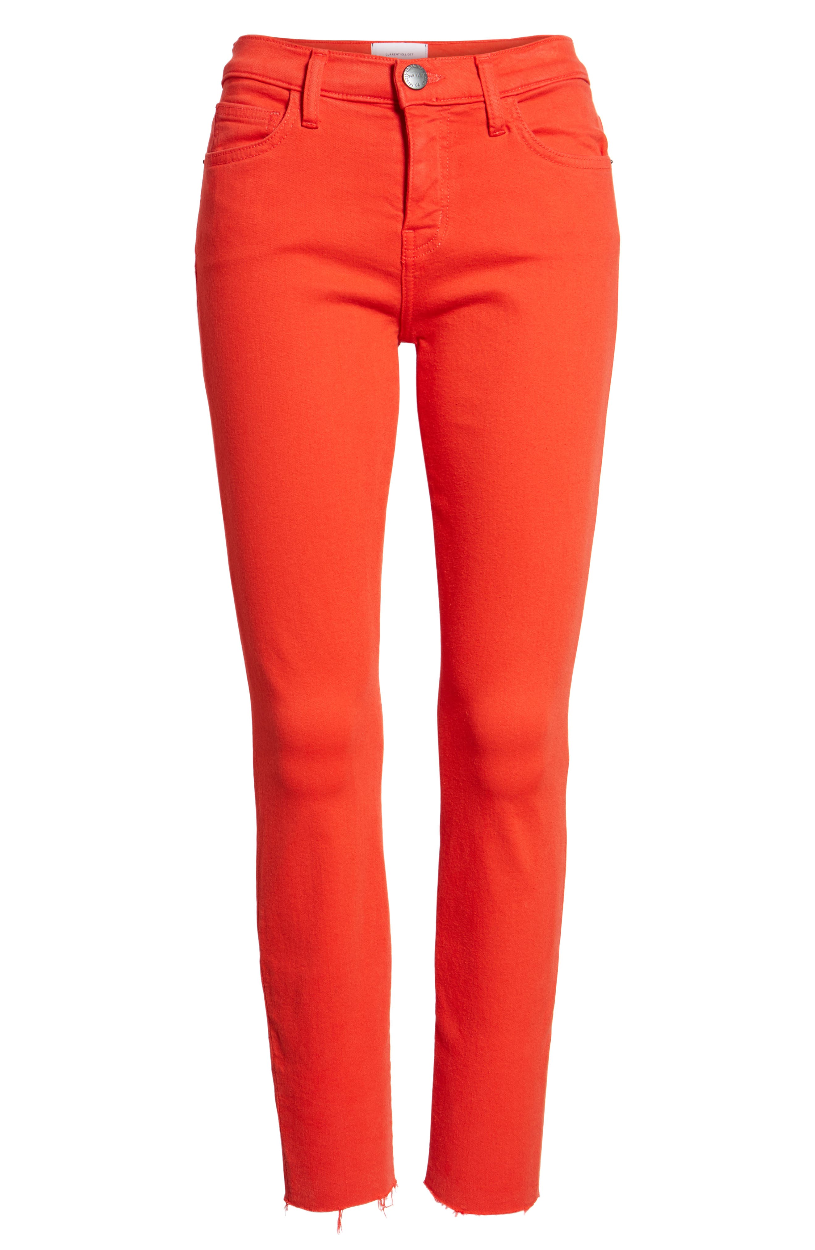 The Stiletto Crop Skinny Jeans,                             Alternate thumbnail 7, color,