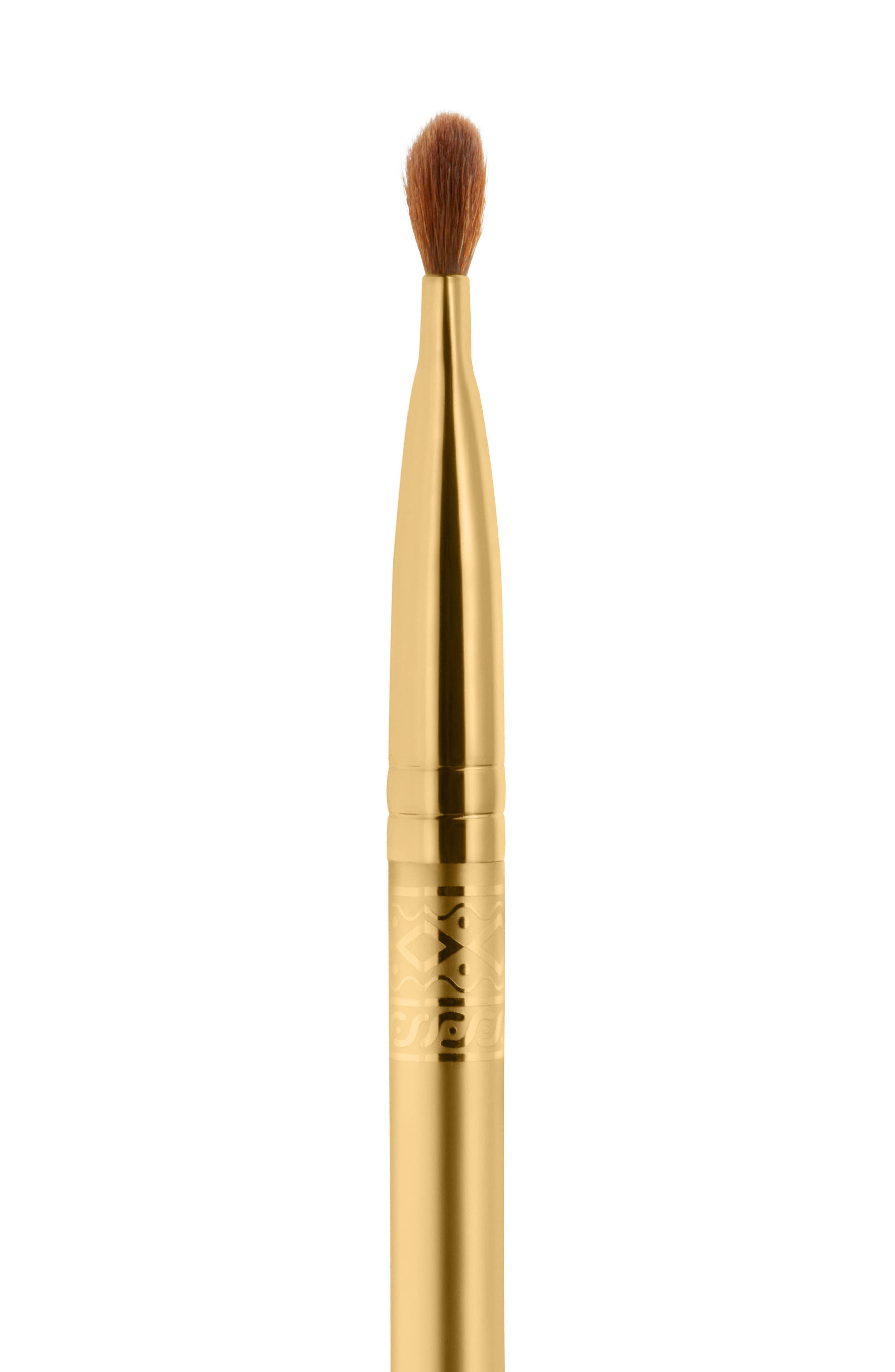 MAC Padma Lakshmi Dual-Ended 213 Fluff Brush/219 Pencil Brush,                             Alternate thumbnail 2, color,                             000