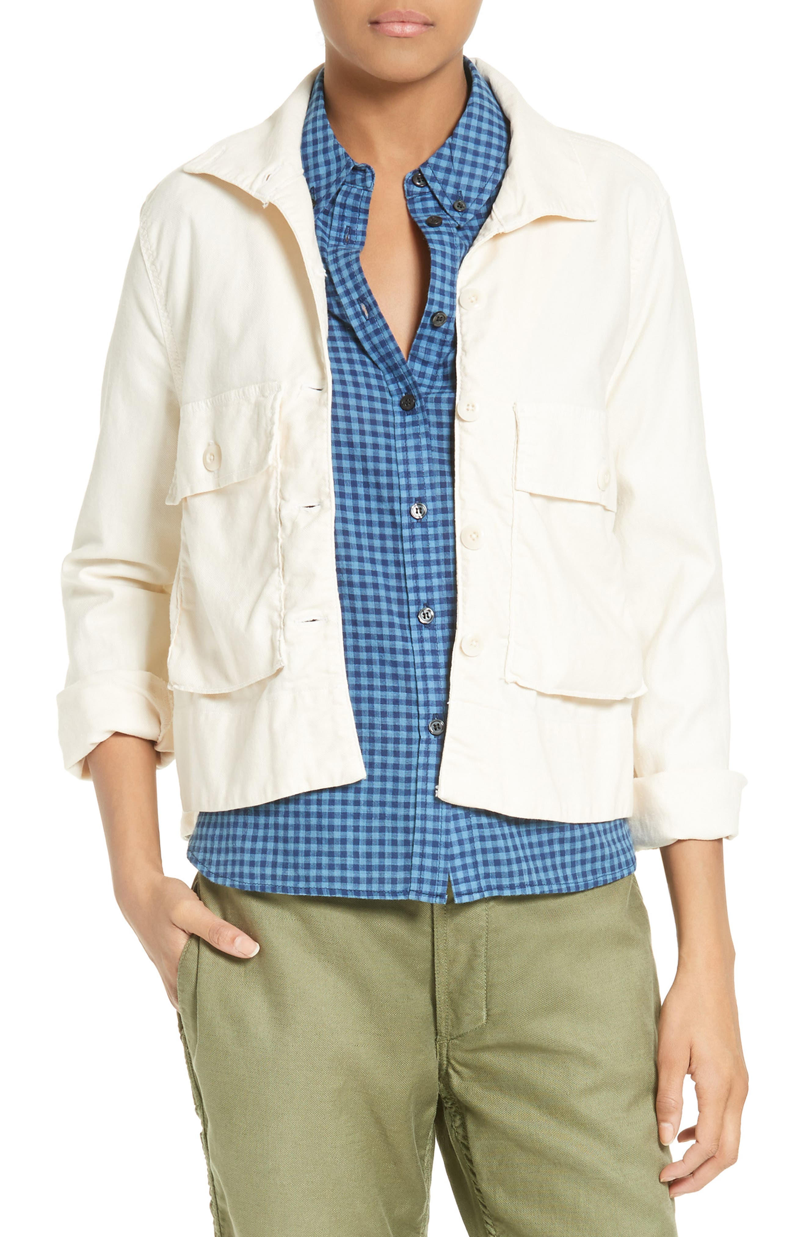 'The Swingy Army' Jacket,                         Main,                         color, 100