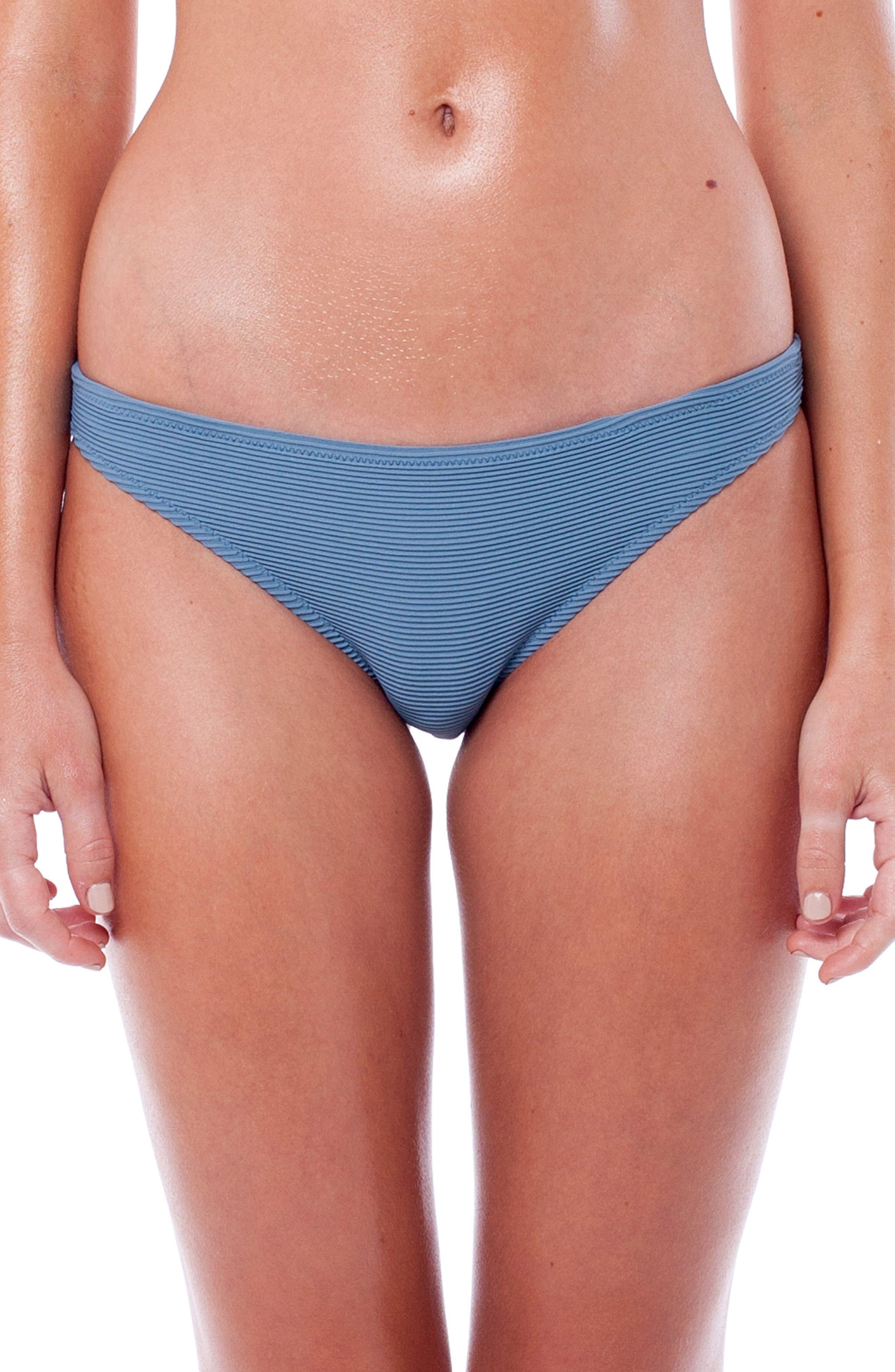 Palm Springs Hipster Bikini Bottoms,                         Main,                         color, STORM